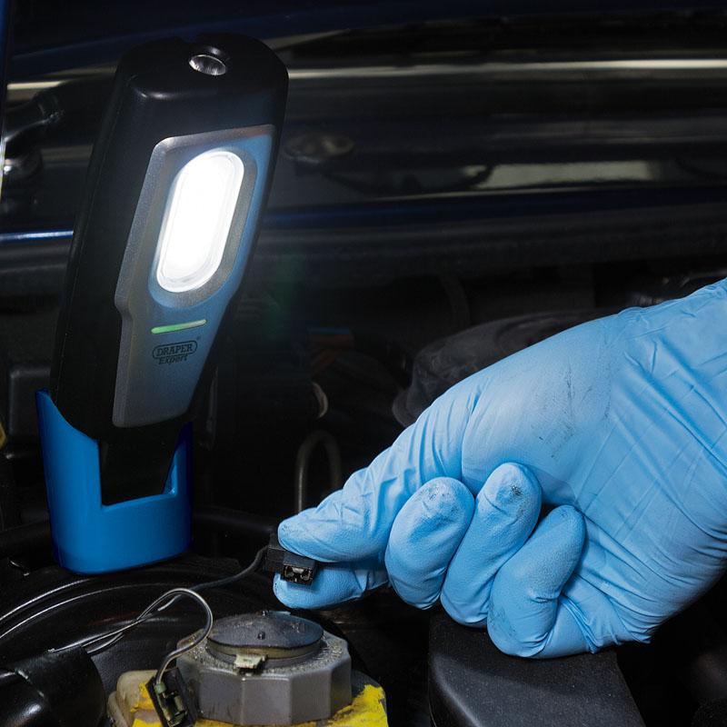 Draper-Magnetic-Compact-Inspection-Lamp-Wth-Rechargable-2W-COB-LED-torch-light thumbnail 6