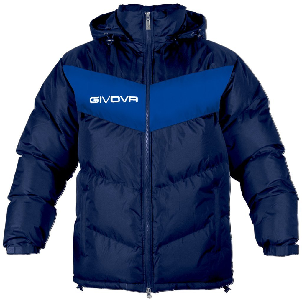 Givova Manager Coach Coat Jacket Football Bench Dugout