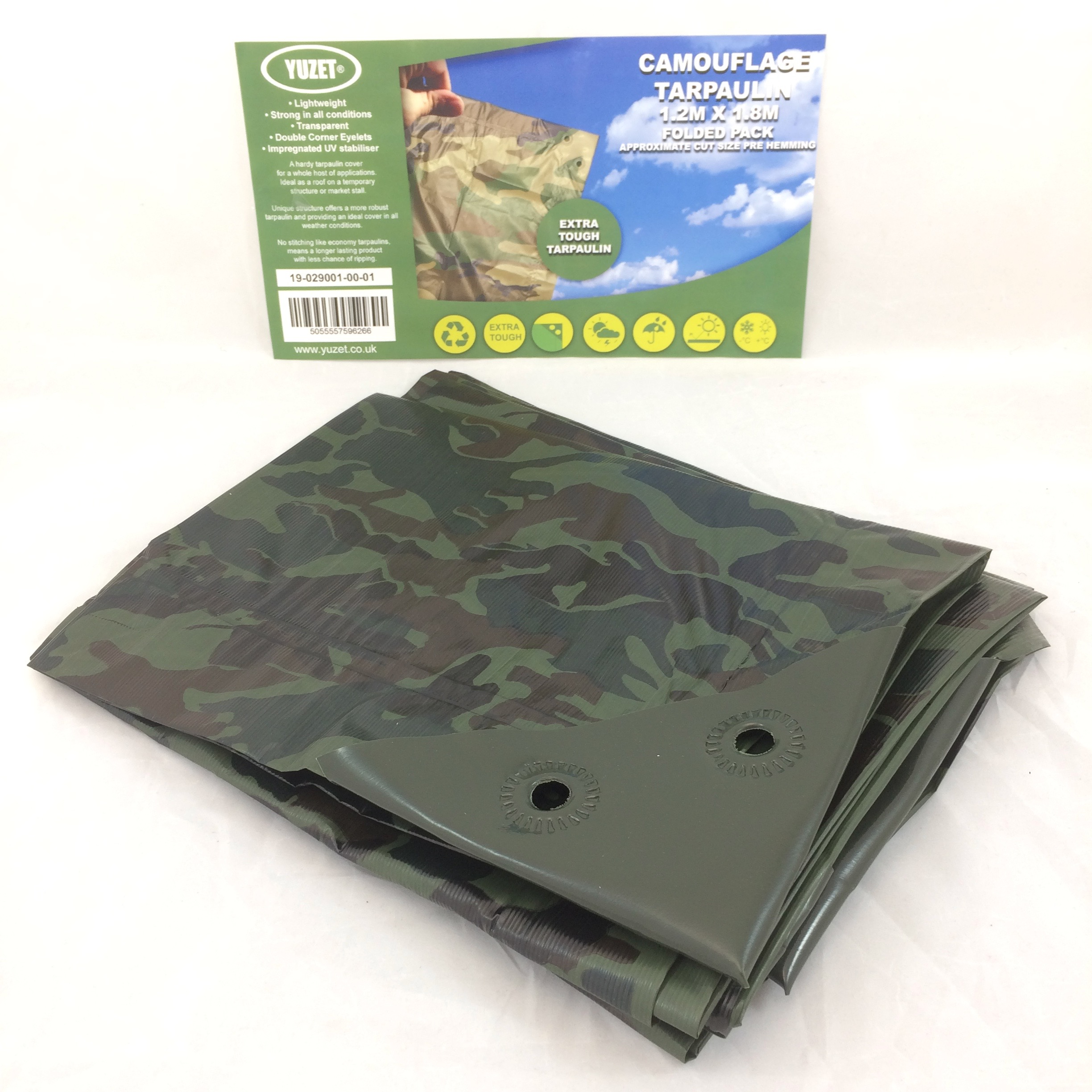 Yuzet-Waterproof-Tarpaulin-Ground-Sheet-Lightweight-Camping-Cover-Tarp-Eyelets