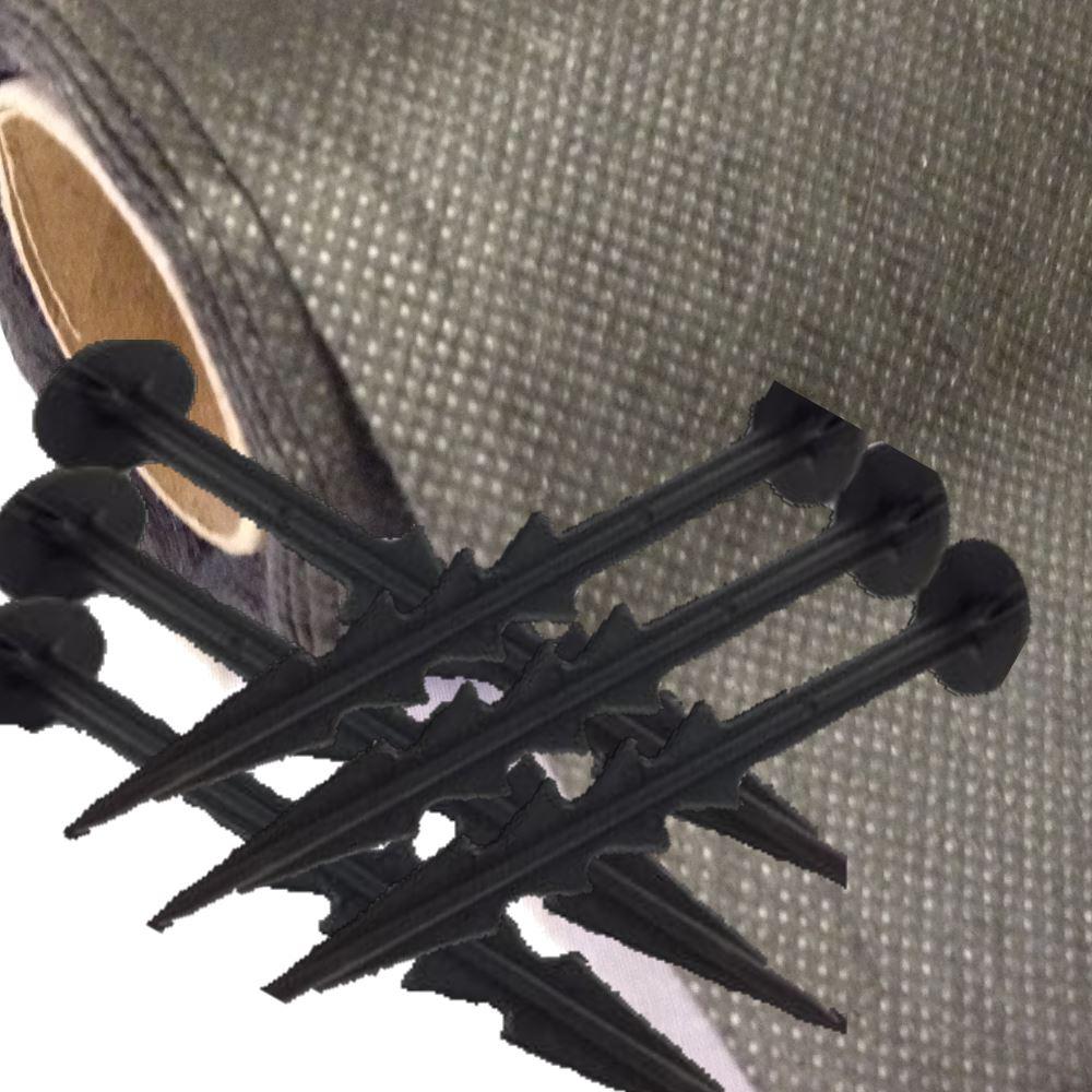 Doux Free Pegs 2 M X 10 M Mauvaises Herbes Tissu Paillis Mat Membrane Jardin-afficher Le Titre D'origine Le Plus Grand Confort