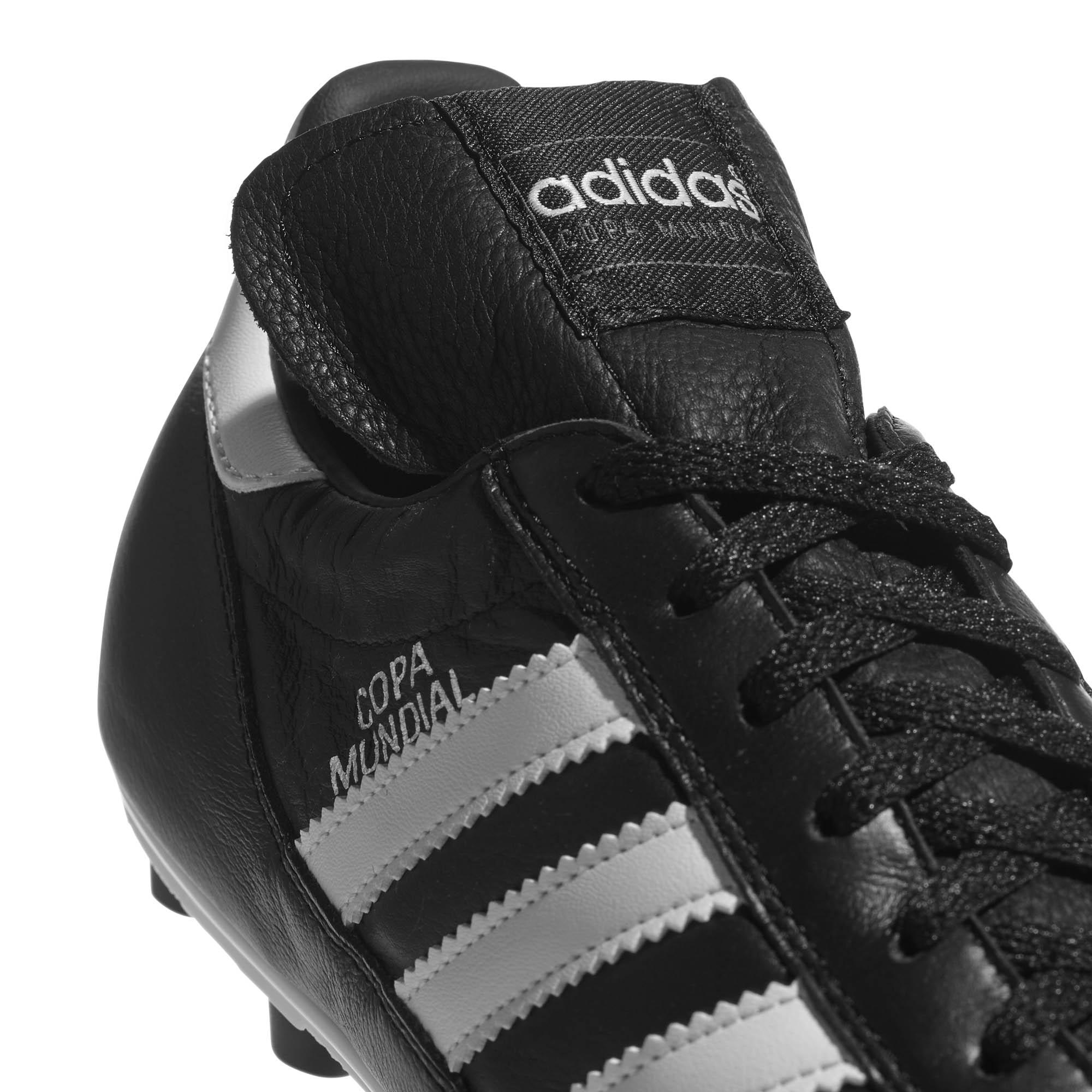 miniature 7 - Adidas-Copa-Mundial-FG-Firm-Ground-pour-homme-Football-Boot-Noir-Blanc