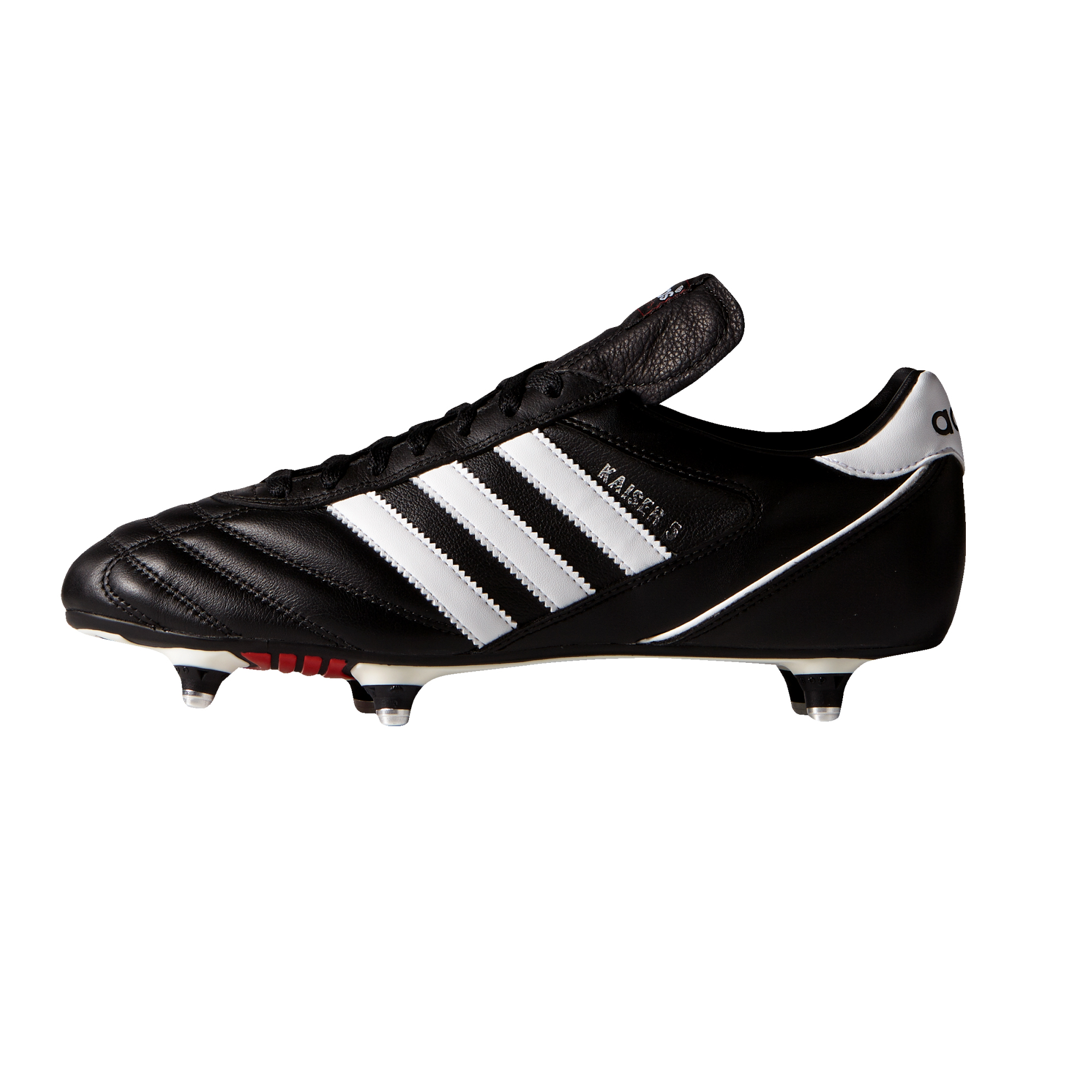 miniature 8 - Adidas-Kaiser-5-Cup-SG-Soft-Ground-pour-homme-Football-Boot-Noir-Blanc