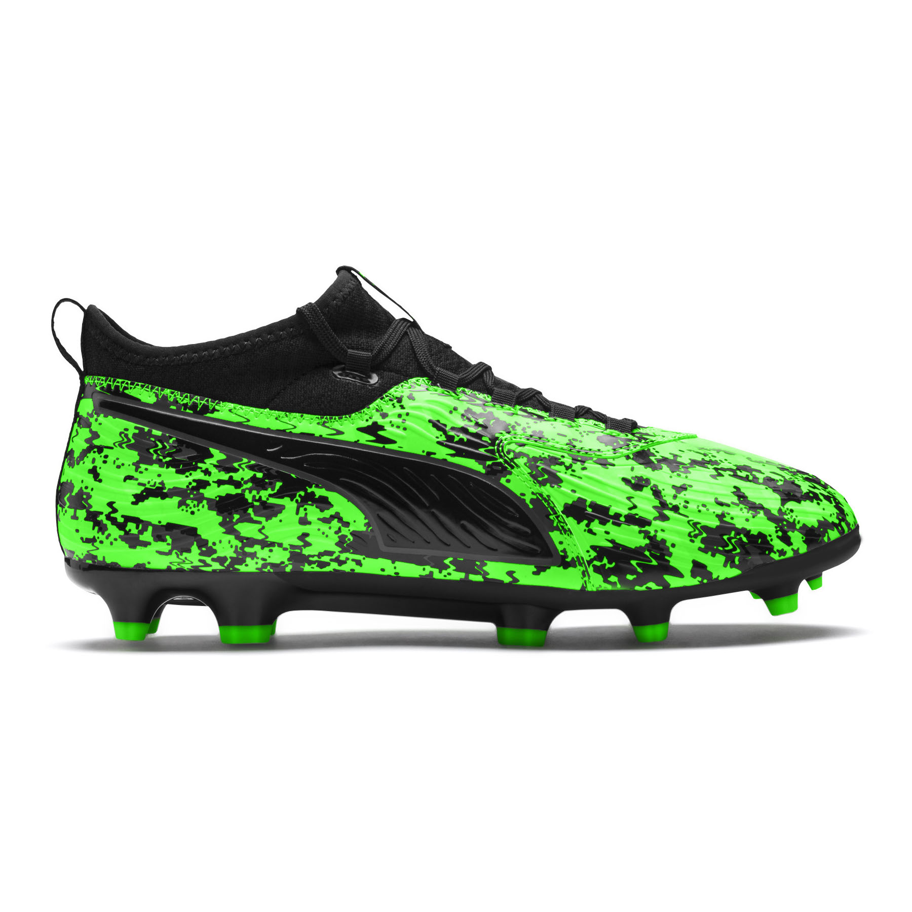 4dc21a499 Details about Puma ONE 19.3 Syn FG/AG Firm Ground Mens Football Boot Green  Hacked