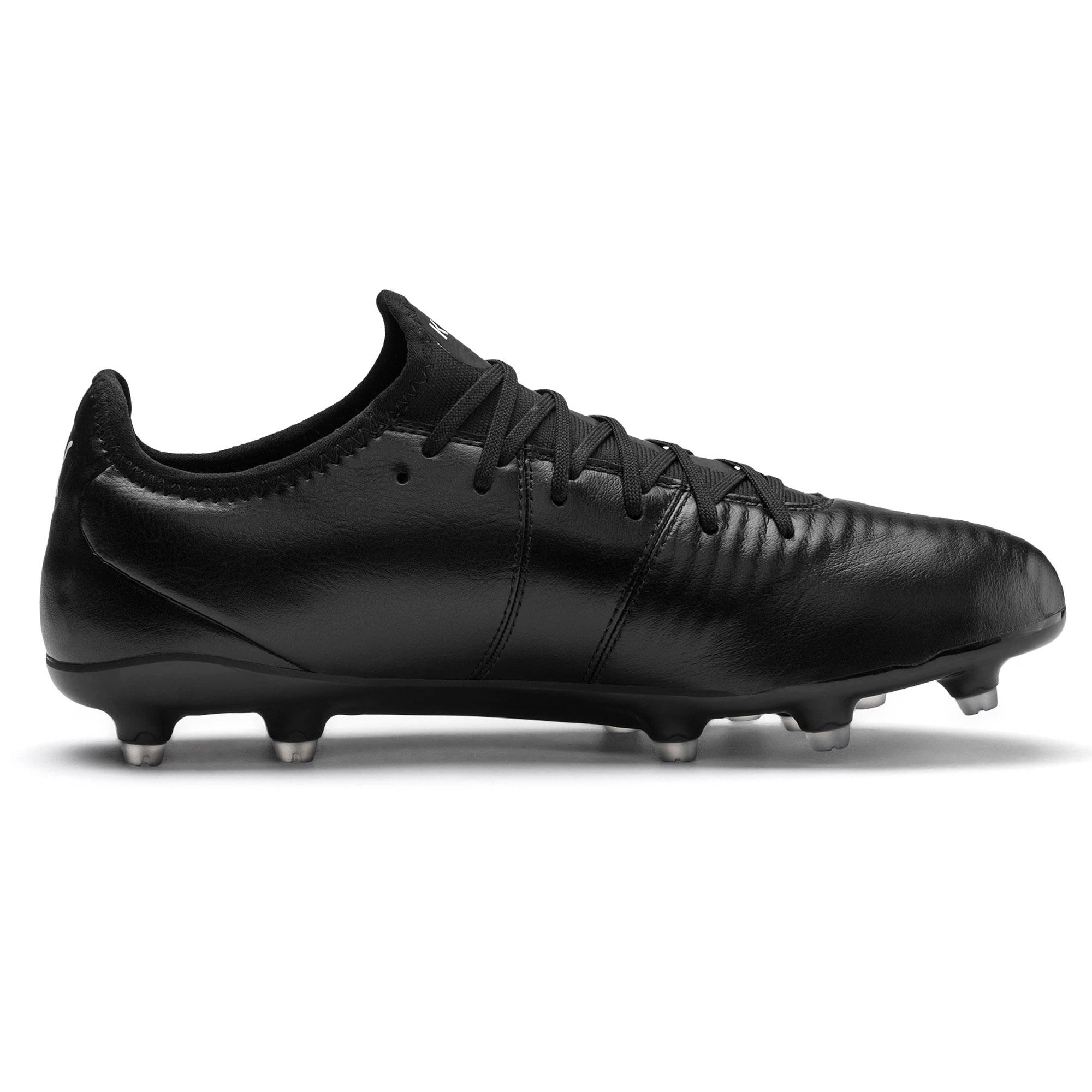 miniature 6 - Puma-King-Pro-FG-Firm-Ground-pour-homme-adulte-Football-Boot-Noir