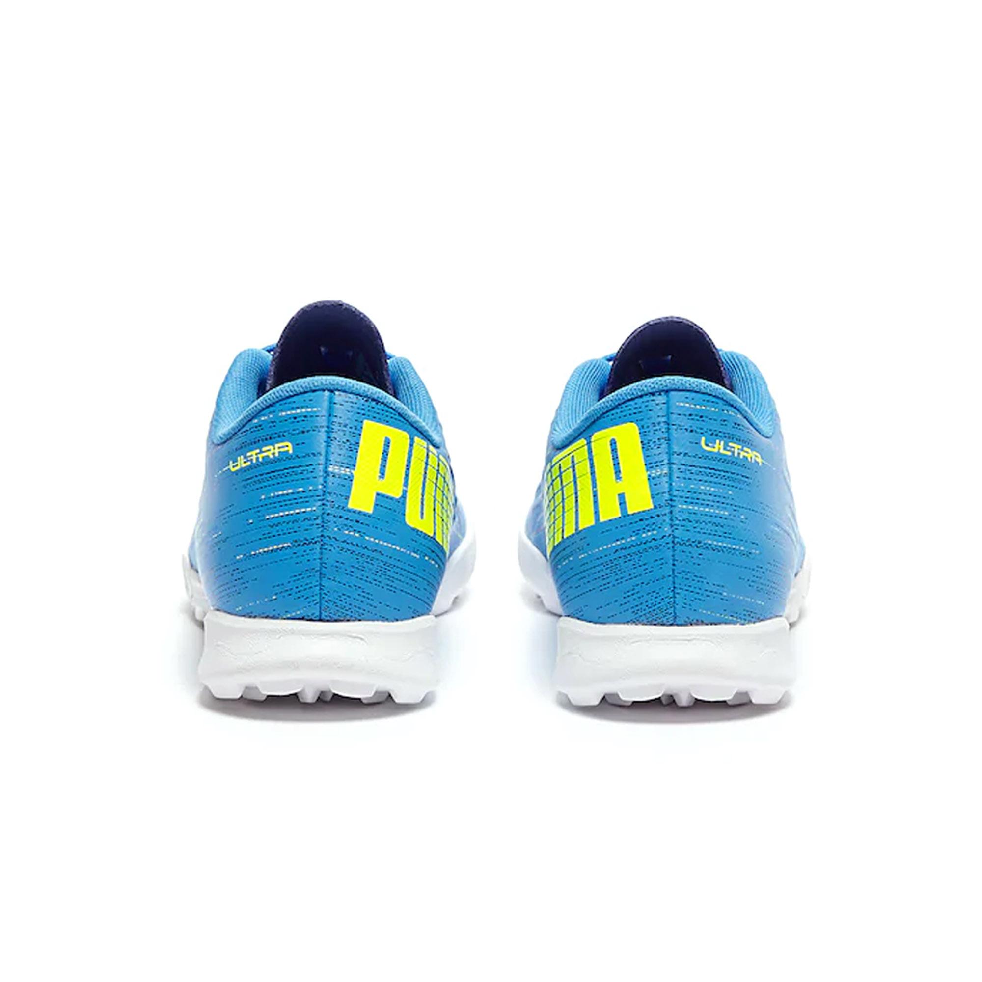 Puma-Ultra-4-2-Kids-TT-Astro-Turf-Football-Chaussure-Bleu miniature 8