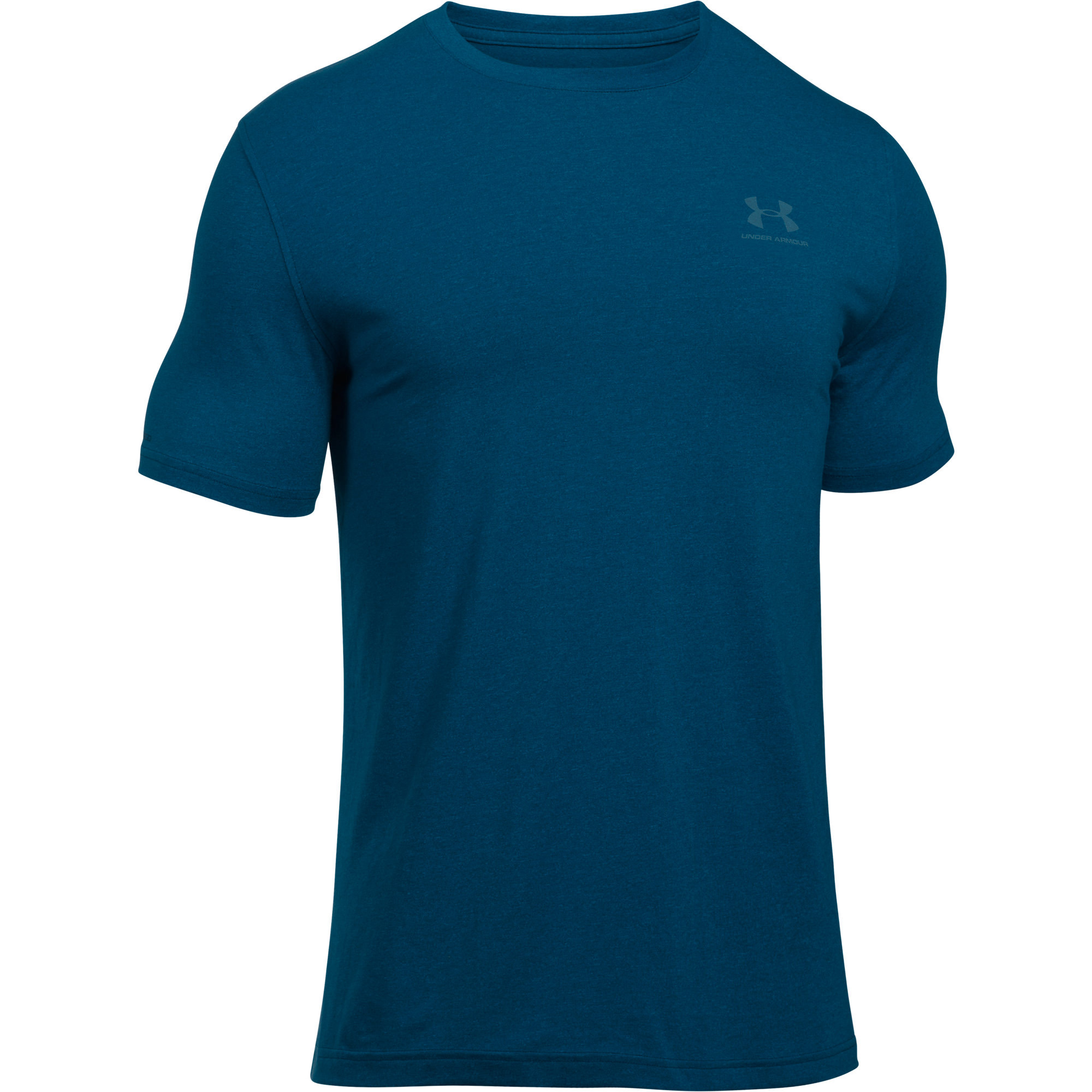 Under Armour Charged Cotton Mens Logo Shirt Tee
