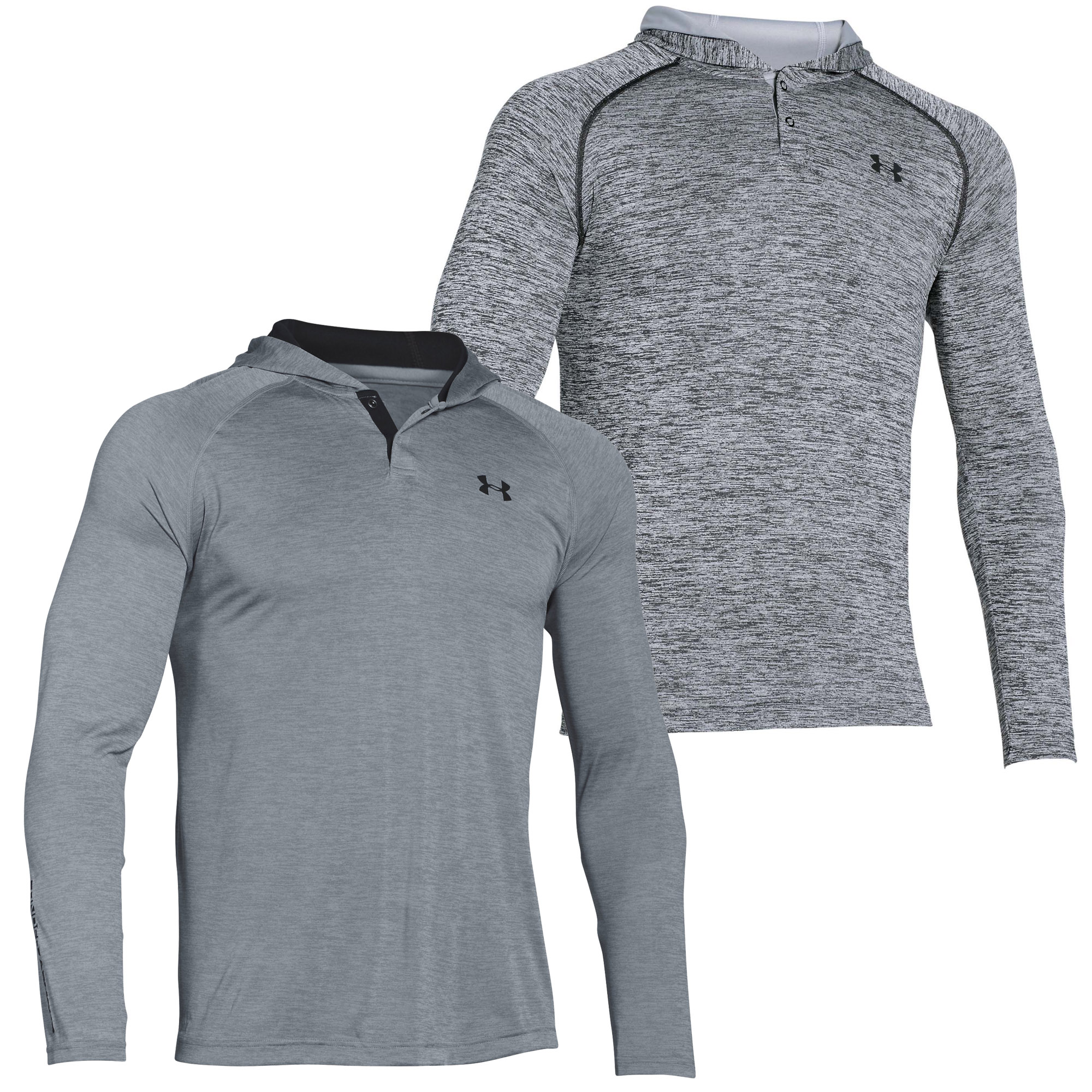 Under-Armour-Tech-Popover-Mens-Sports-Fitness-Hoodie-Hoody-Jacket thumbnail 5