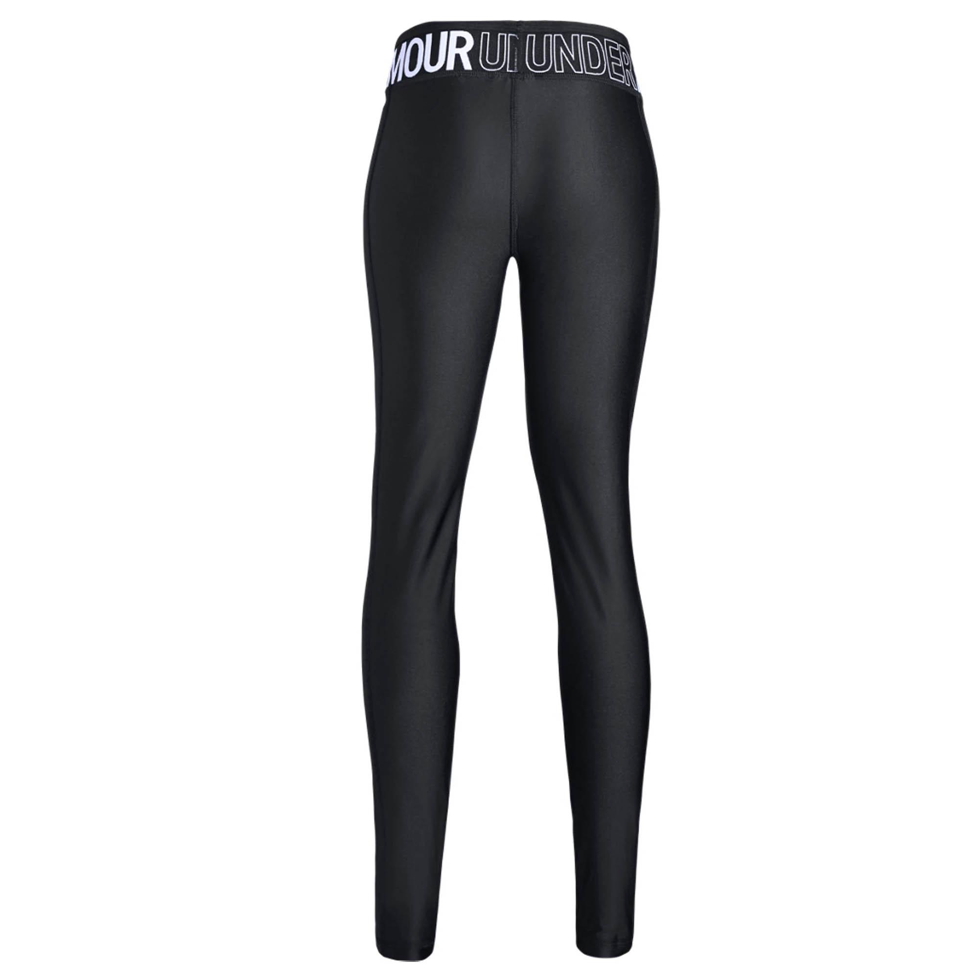 420c0eec986dc Under Armour Heatgear Armour Logo Girls Fitted Baselayer Legging ...