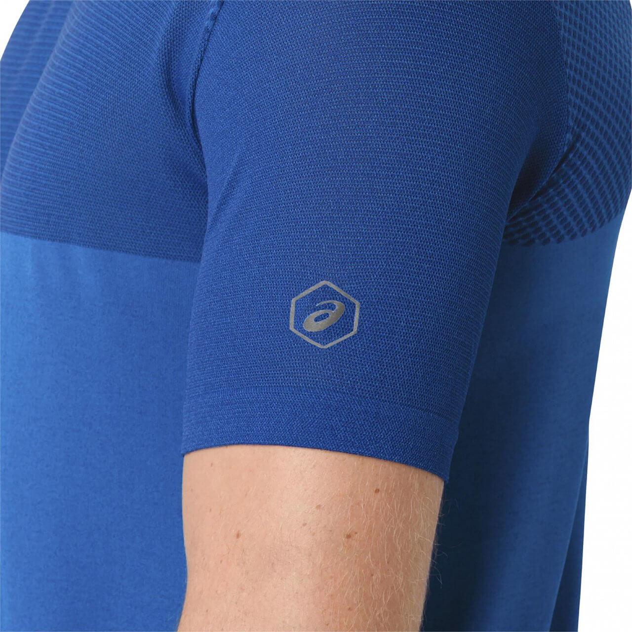 Asics-FuzeX-Seamless-Short-Sleeve-Mens-Running-Fitness-Shirt-Top thumbnail 7