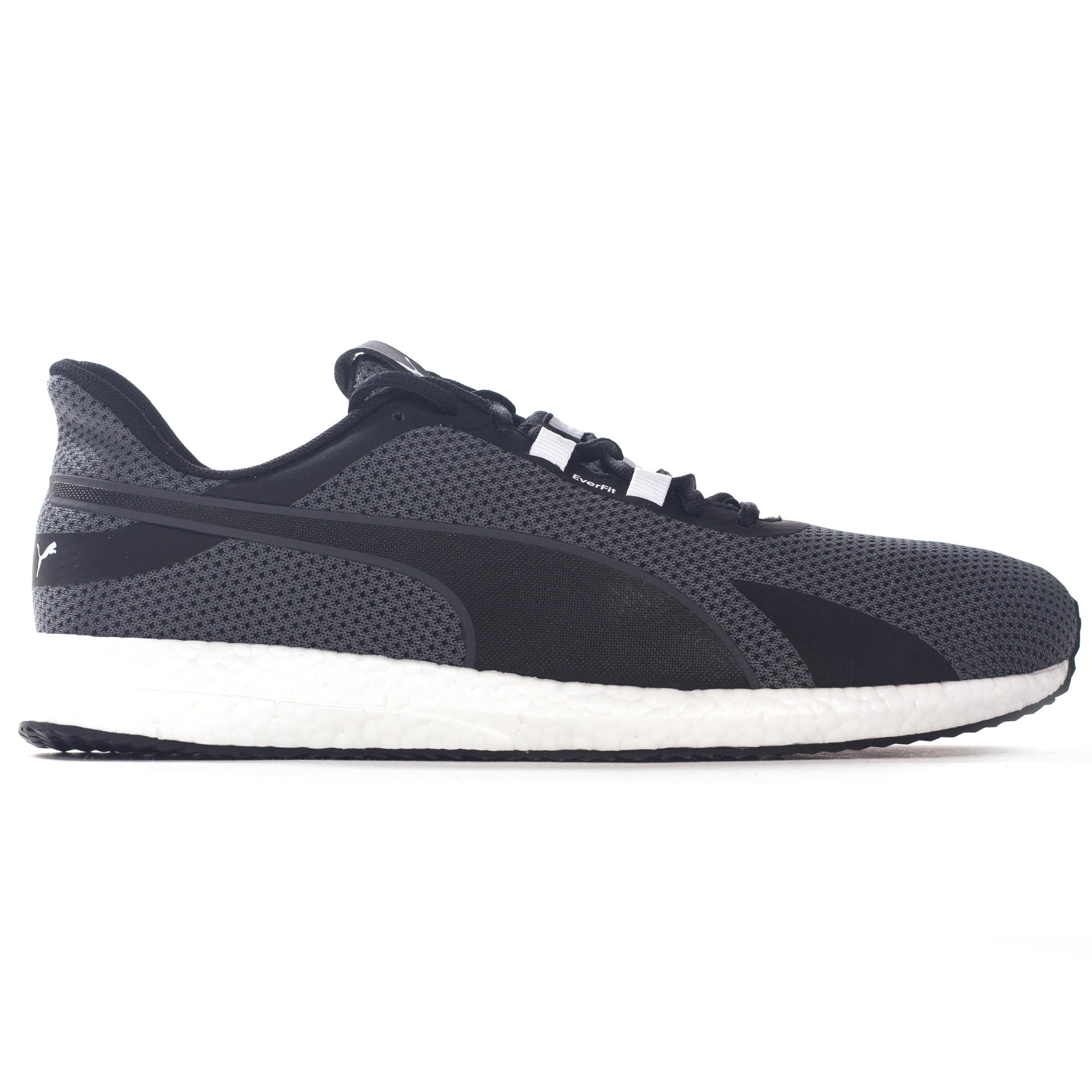 c68fc7b2a15 Details about Puma Mega NRGY Turbo Mens Running Fitness Trainer Shoe Grey  Black