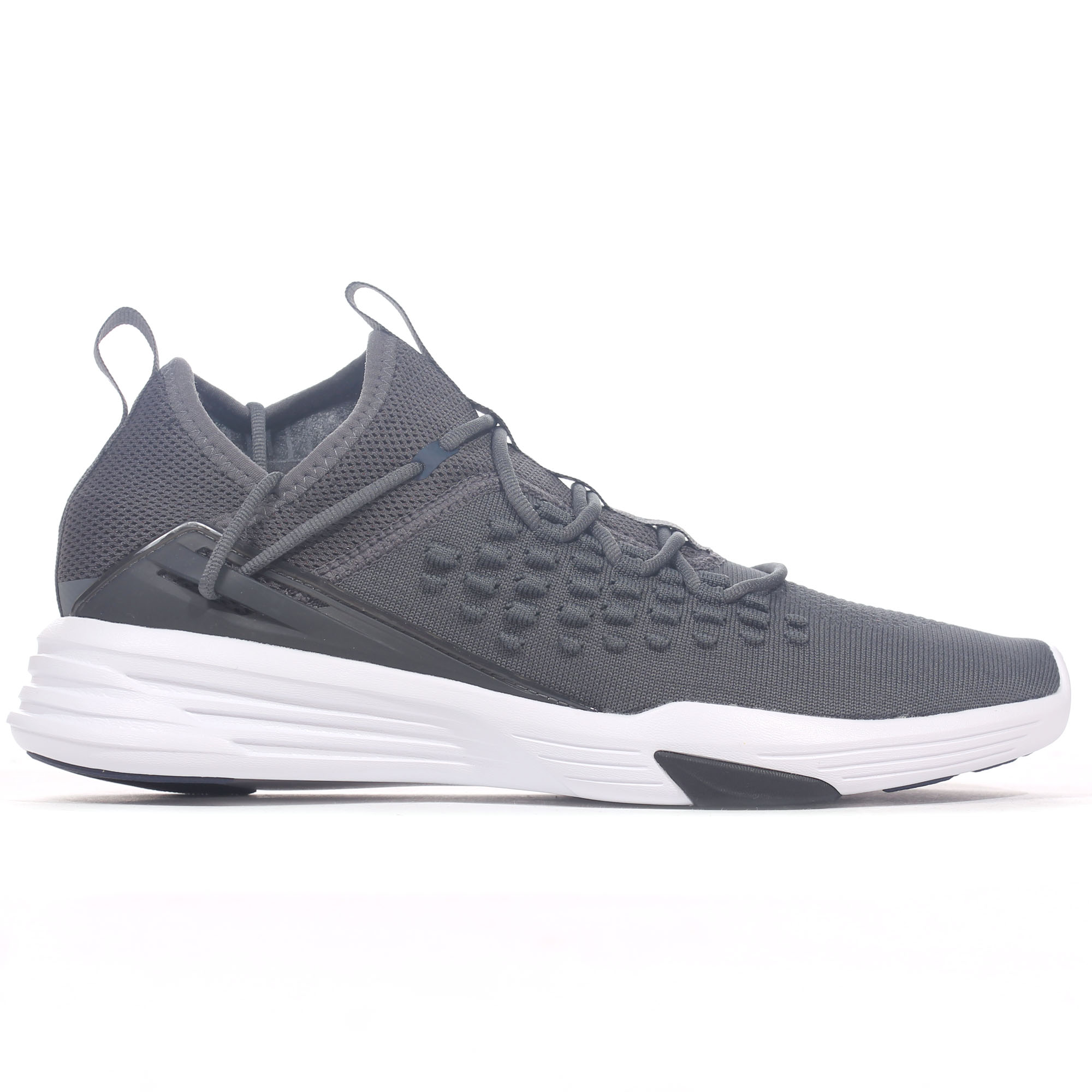 70262ac4a43 Puma Mantra Fusefit Mens Exercise Fitness Training Trainer Shoe Grey ...