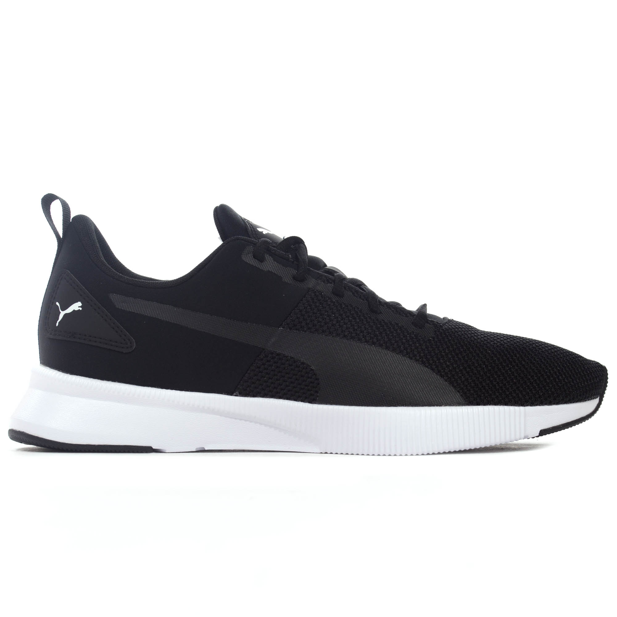 b0aa8e17556 Details about Puma Flyer Runner Mens Neutral Running Trainer Shoe  Black White
