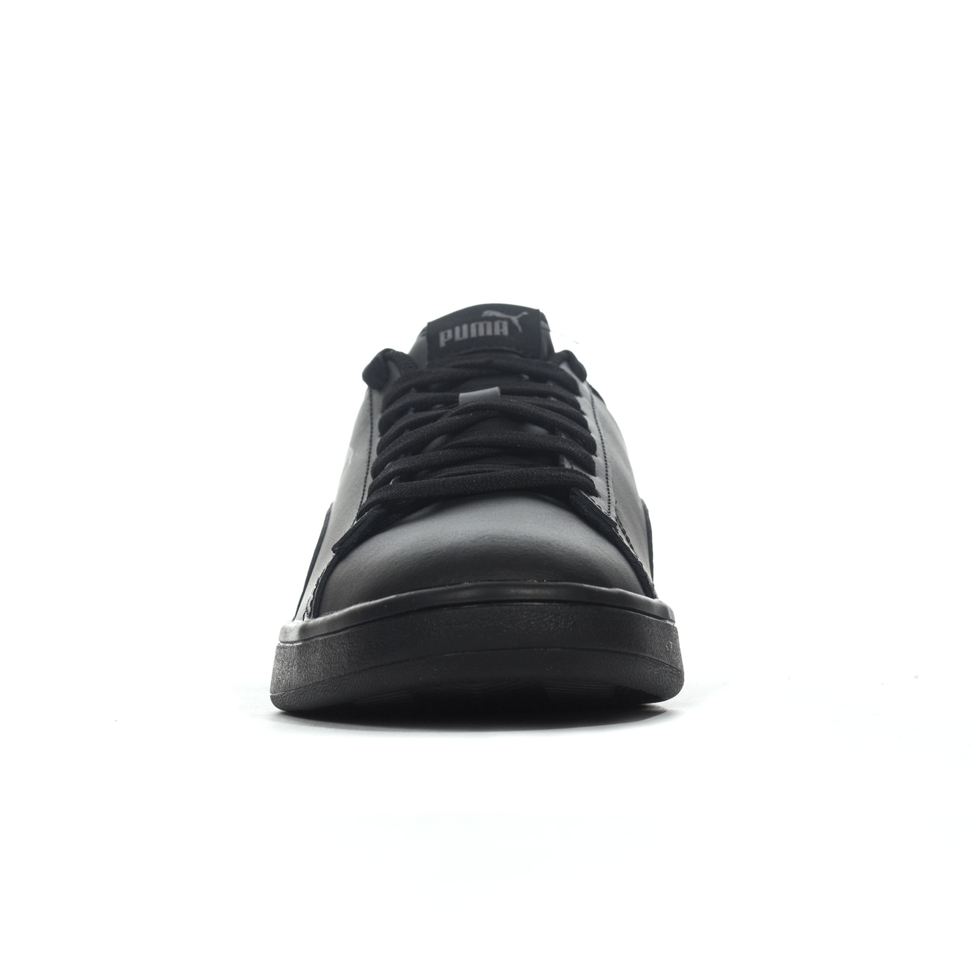 81f8a126d49c Puma Smash v2 Leather Mens Football Terrace Trainer Shoe Black - UK ...