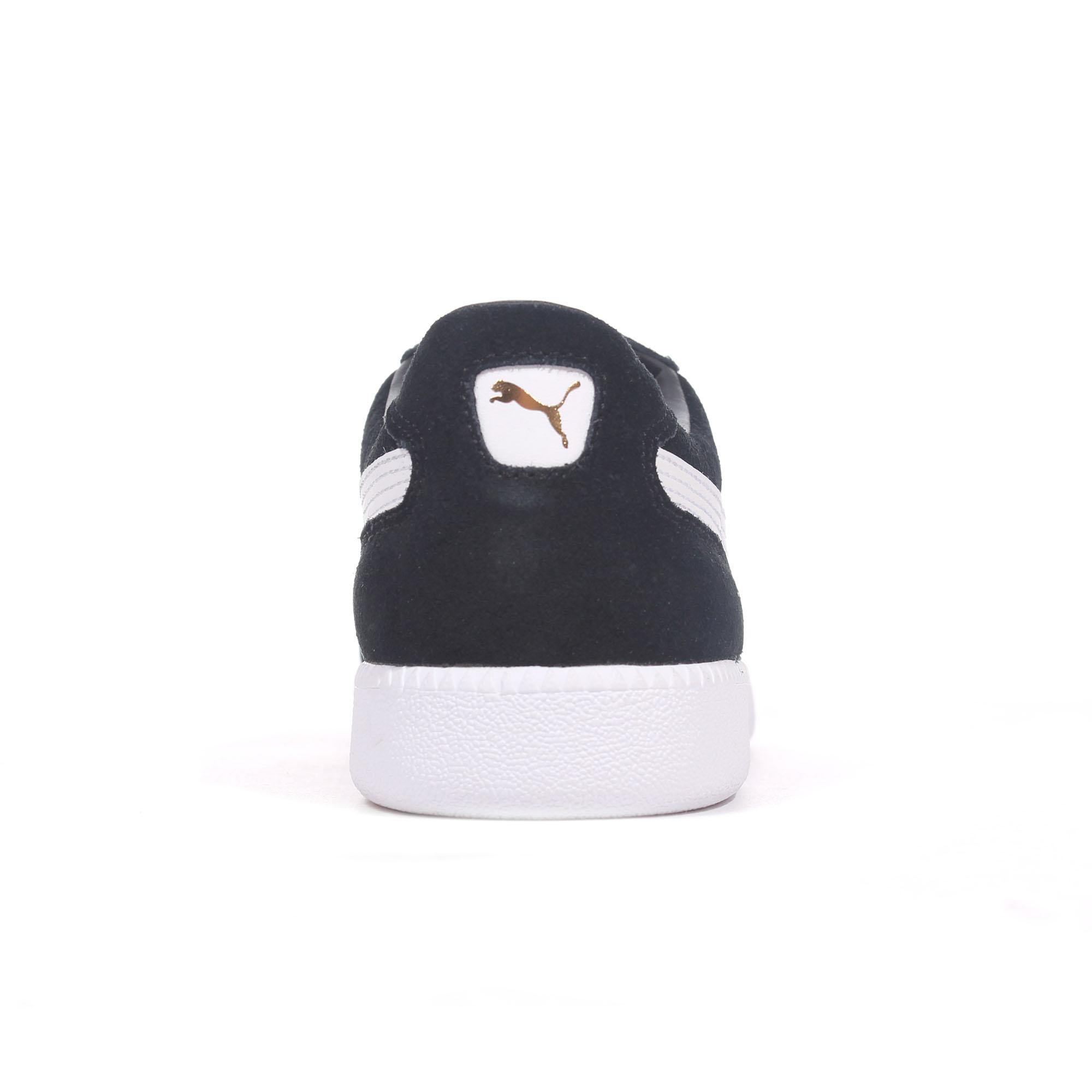 4bf828e54485 Puma Liga Suede Mens Football Terrace Fashion Trainer Shoe Black ...