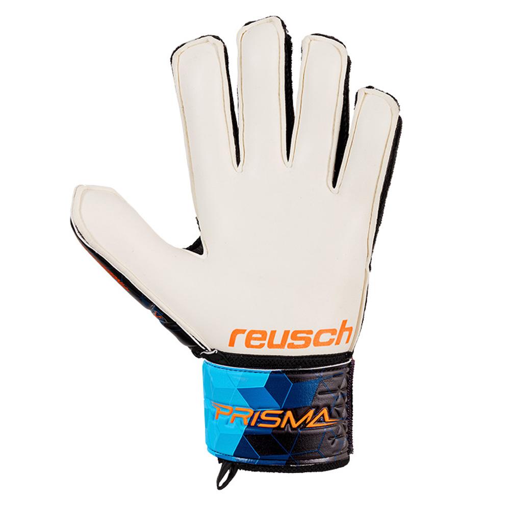 miniature 4 - Reusch-Prisma-SG-Finger-Support-Ltd-Homme-Gardien-Gant-Noir-Bleu-Orange