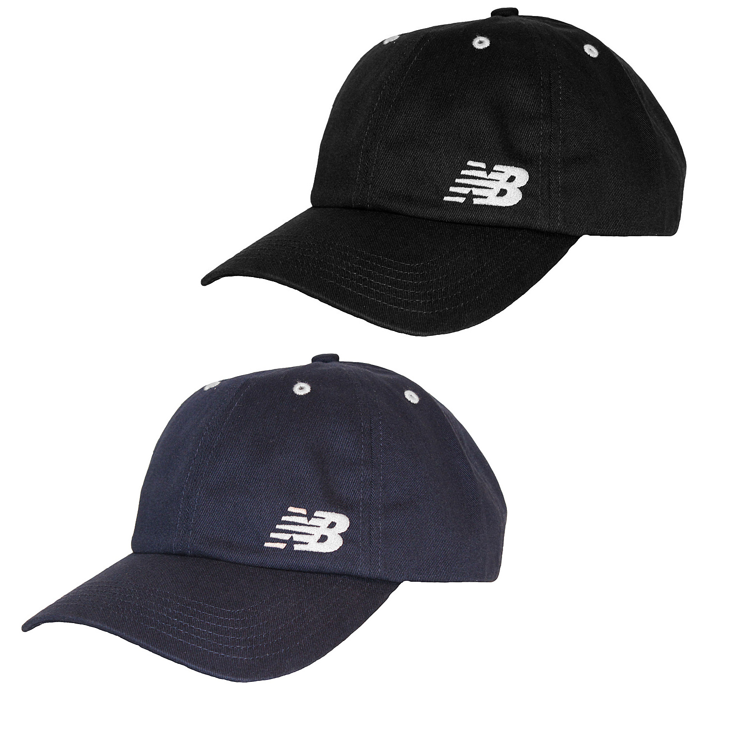 new balance mens 6 panel curved brim baseball cap hat ebay. Black Bedroom Furniture Sets. Home Design Ideas