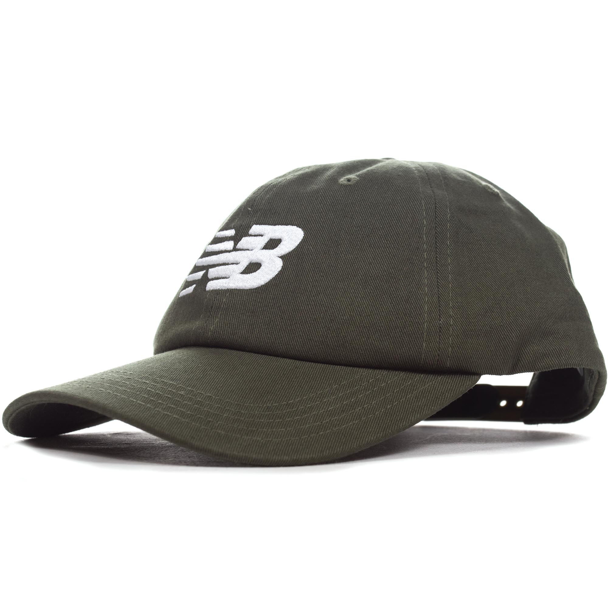 45254ccef99af8 Details about New Balance Mens 6-Panel Curved Brim Snapback Baseball Cap Hat