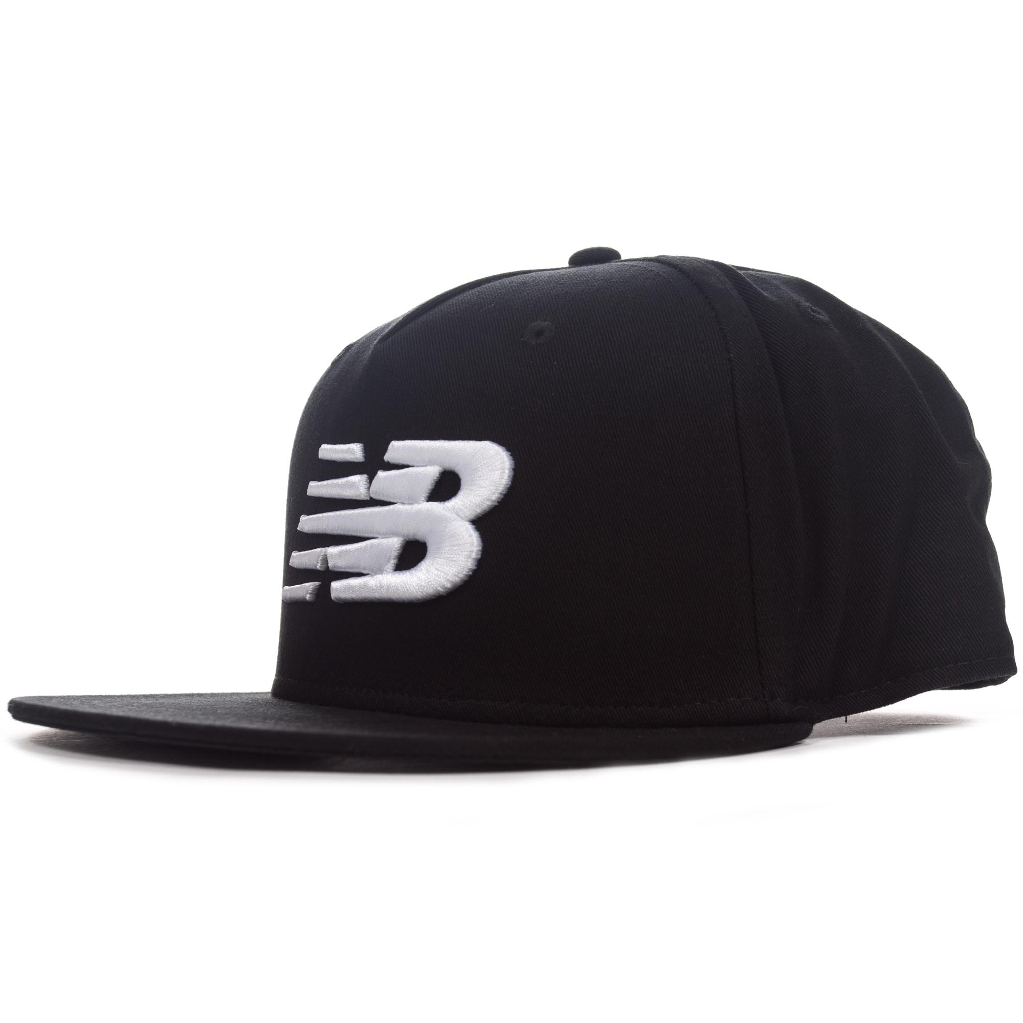 08dc986ee67 Details about New Balance Mens 5-Panel Pro II Logo Snapback Baseball Cap Hat