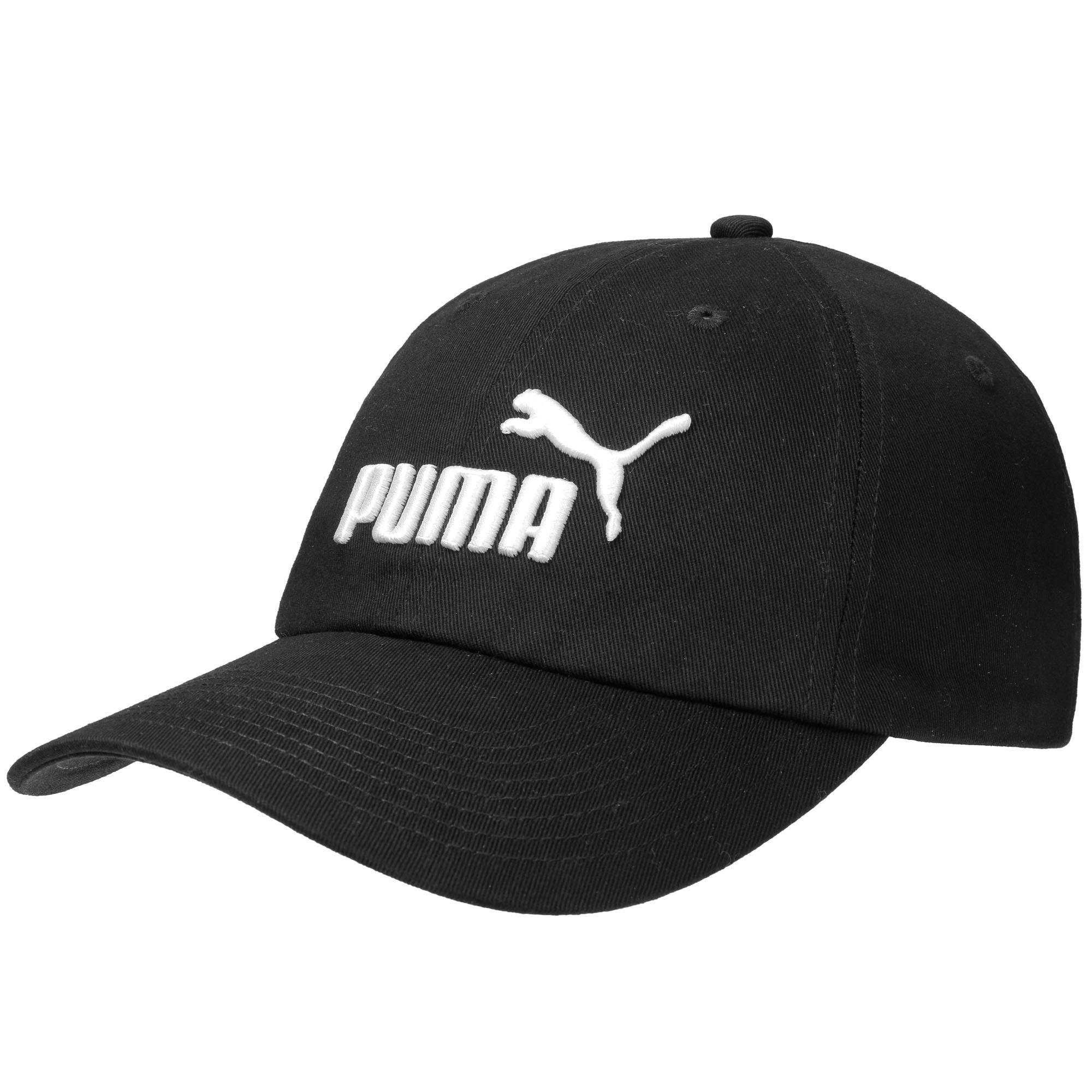 ae5dd0fb938 Details about Puma Essential No.1 Logo Fashion Casual Baseball Cap Hat Black  - ADULT