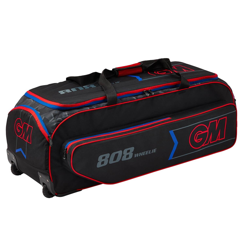 146245eb38 Details about Gunn   Moore 2019 808 Wheelie Cricket Duffle Holdall Bag  Black Red Blue