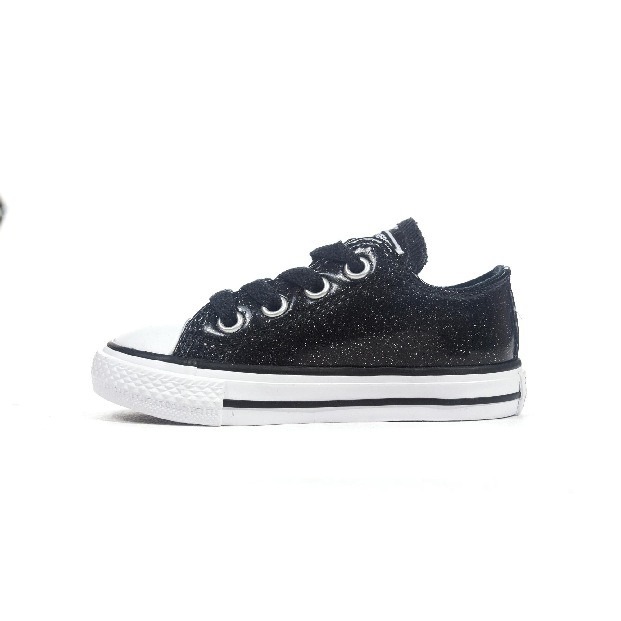 00a4e2deecffea Converse Chuck Taylor All Star Glitzer Ox Kleinkind Mädchen Sneaker ...
