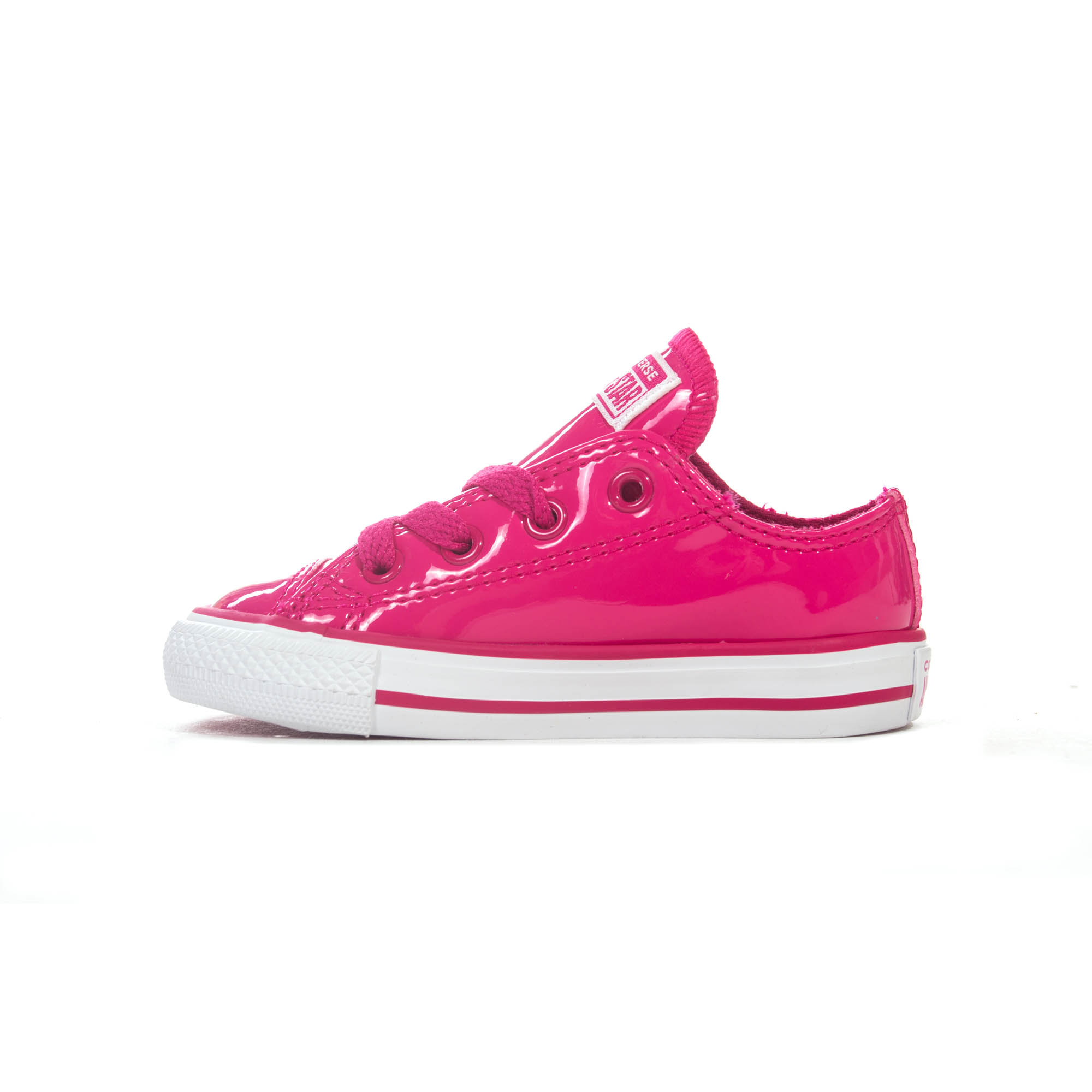 8340577d9f50 Converse Chuck Taylor All Star Ox Patent 90s Infant Girls Trainer Pink