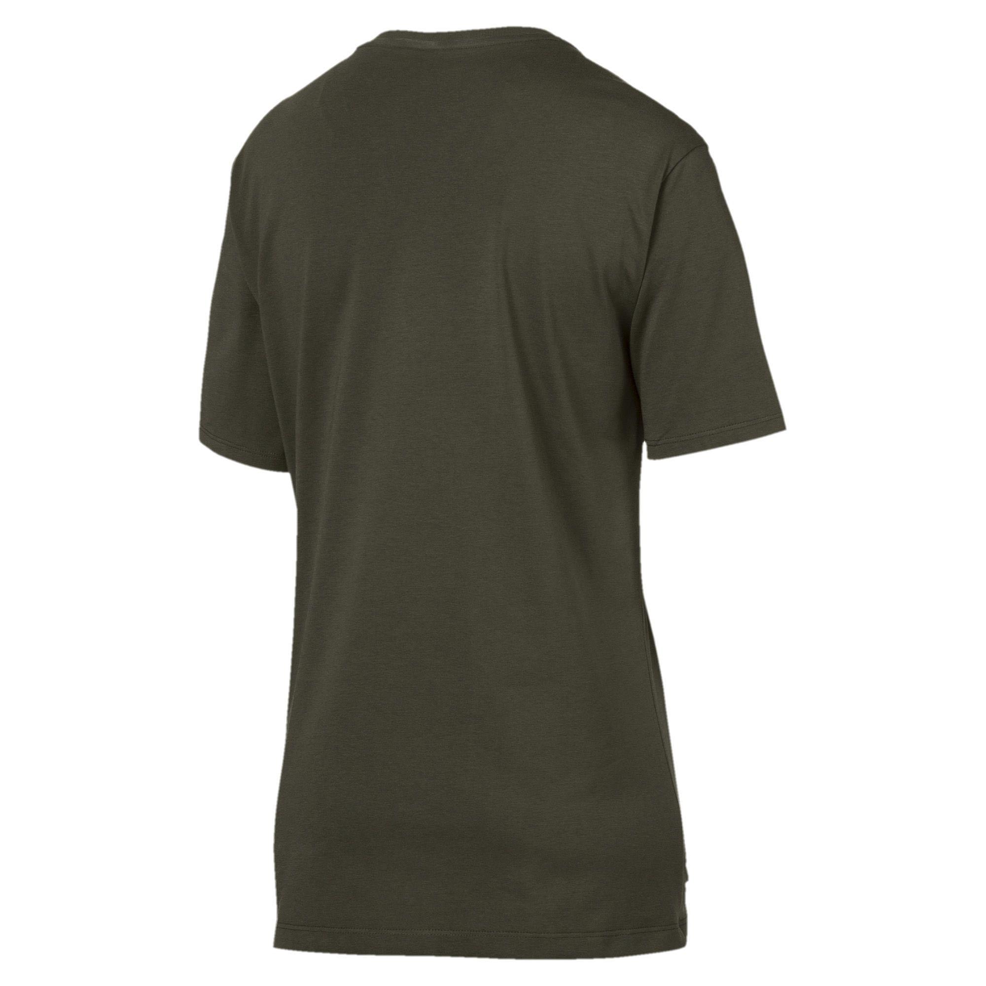 Puma Essential Logo Womens Ladies Sports Fashion Boyfriend T-shirt Tee Women's Clothing Sporting Goods
