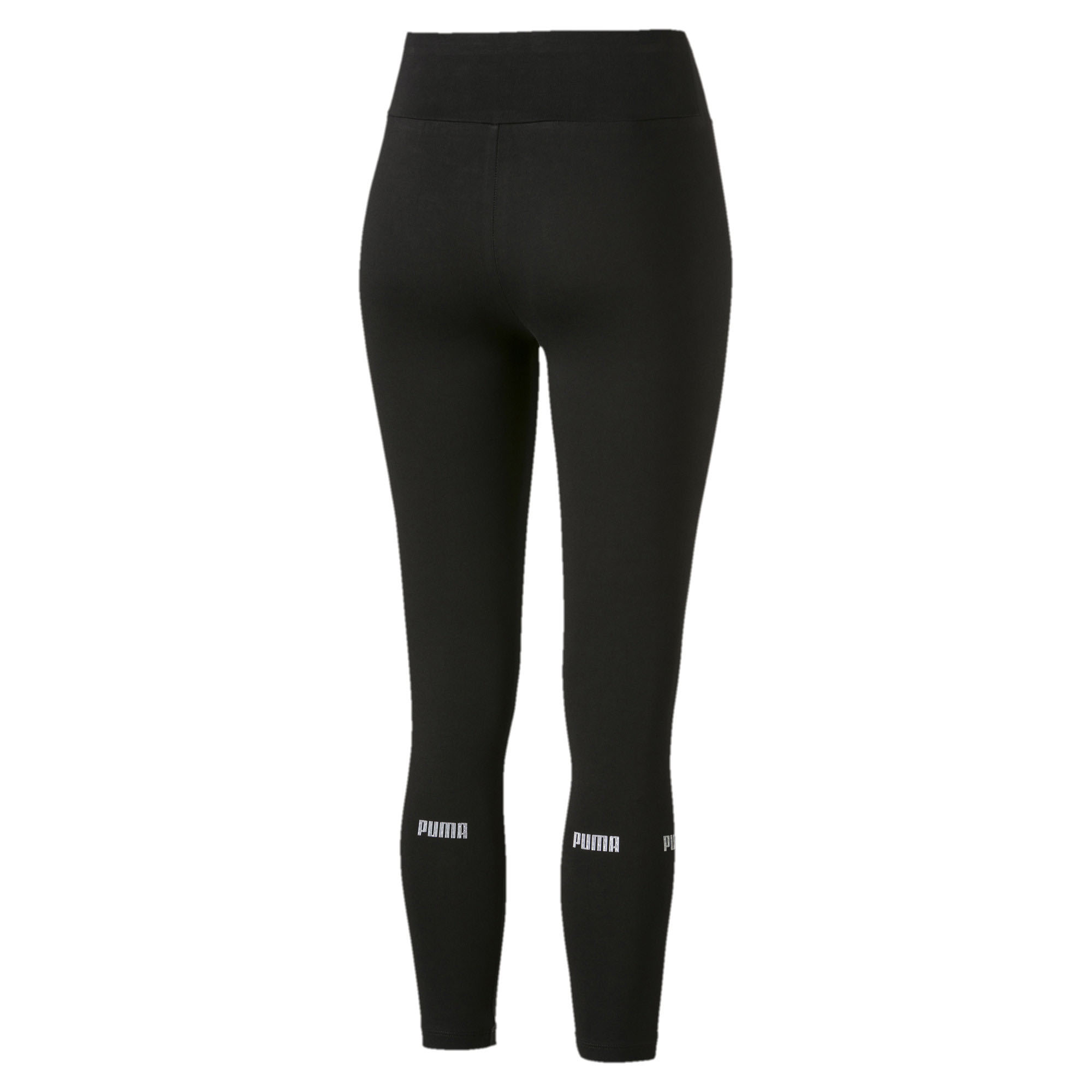 Puma Amplified Womens Ladies Sports Fitness Legging Black Sporting Goods