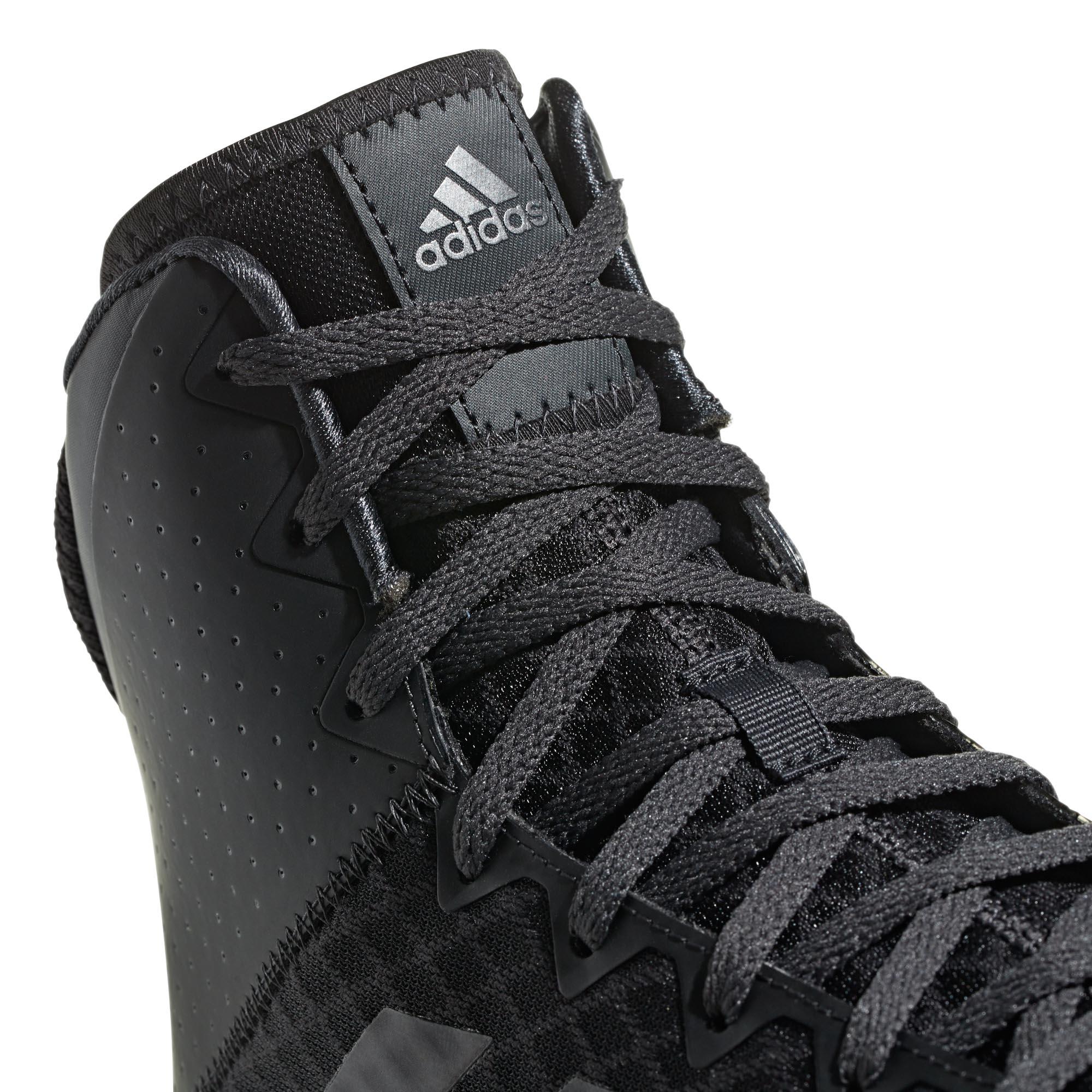 miniature 8 - Adidas Mat Wizard 4 homme adulte lutte Trainer Shoe Boot Noir