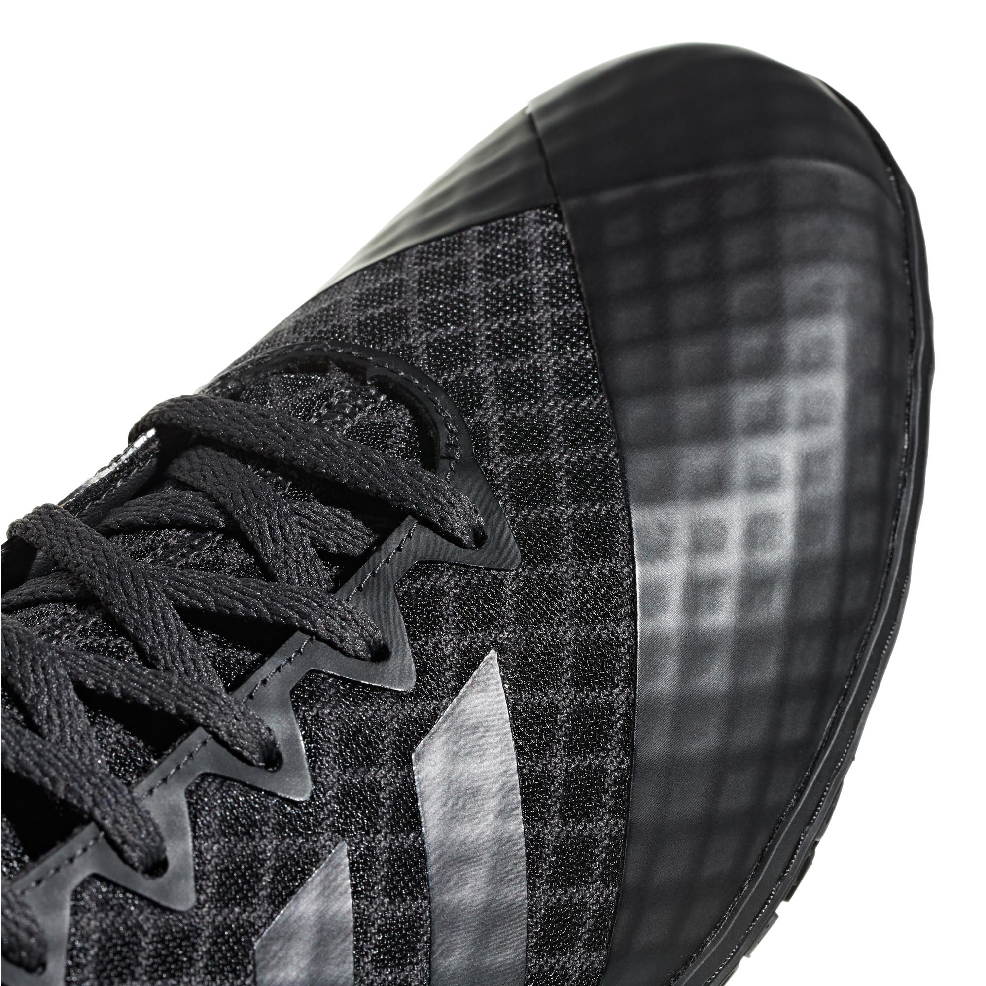 miniature 9 - Adidas Mat Wizard 4 homme adulte lutte Trainer Shoe Boot Noir