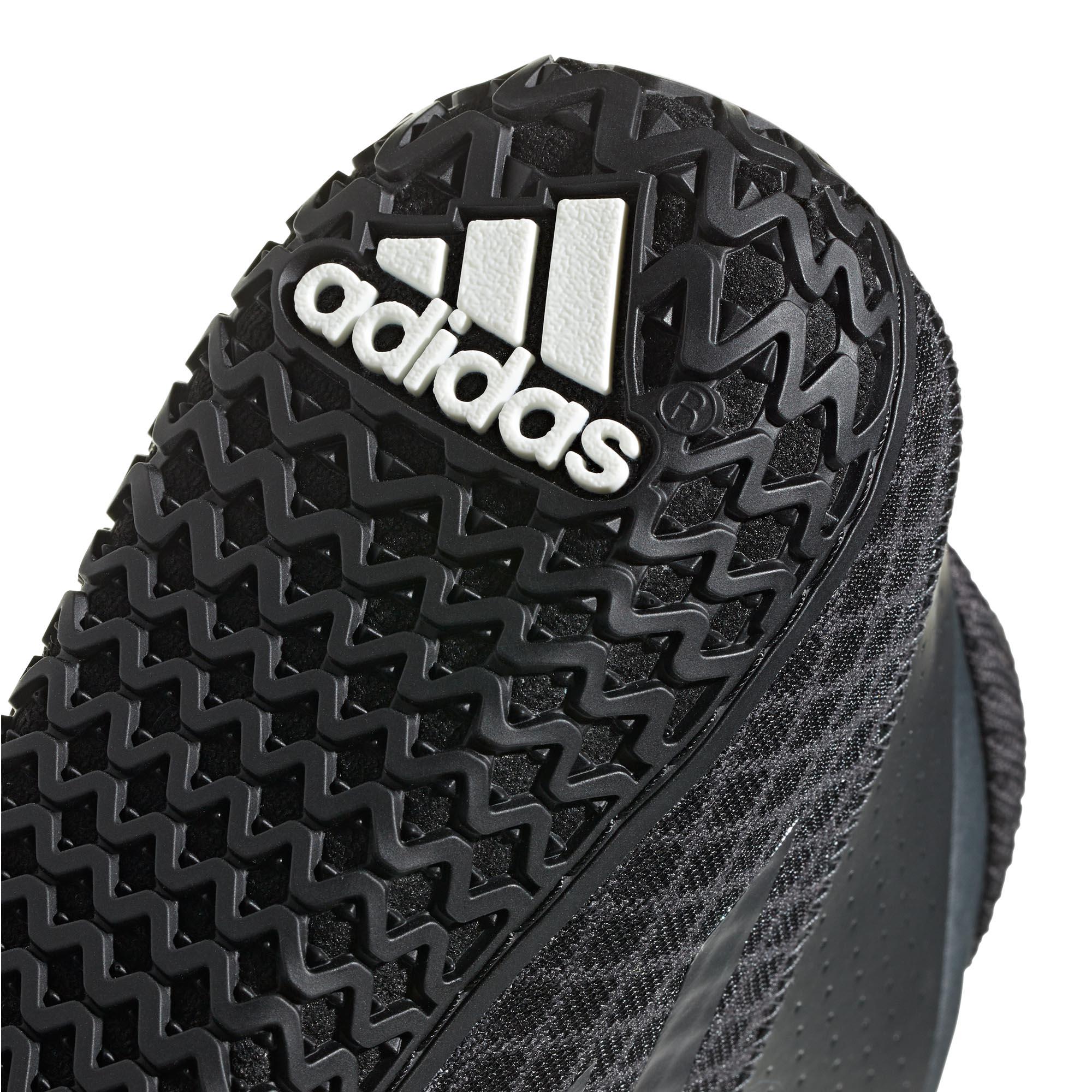 miniature 10 - Adidas Mat Wizard 4 homme adulte lutte Trainer Shoe Boot Noir