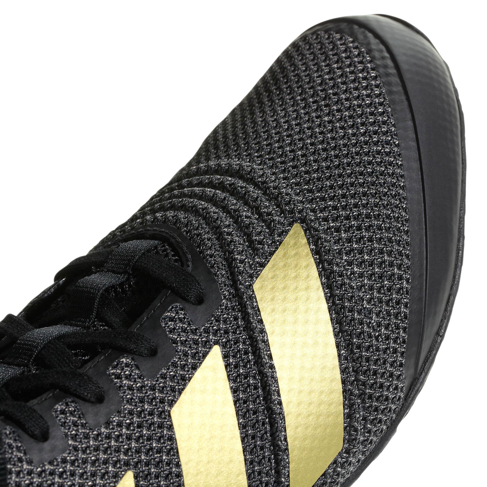 Adulte Sur Montantes Adidas De Sport Noiror Speedex 18 Boxe Détails Hommes Chaussures f7gb6y