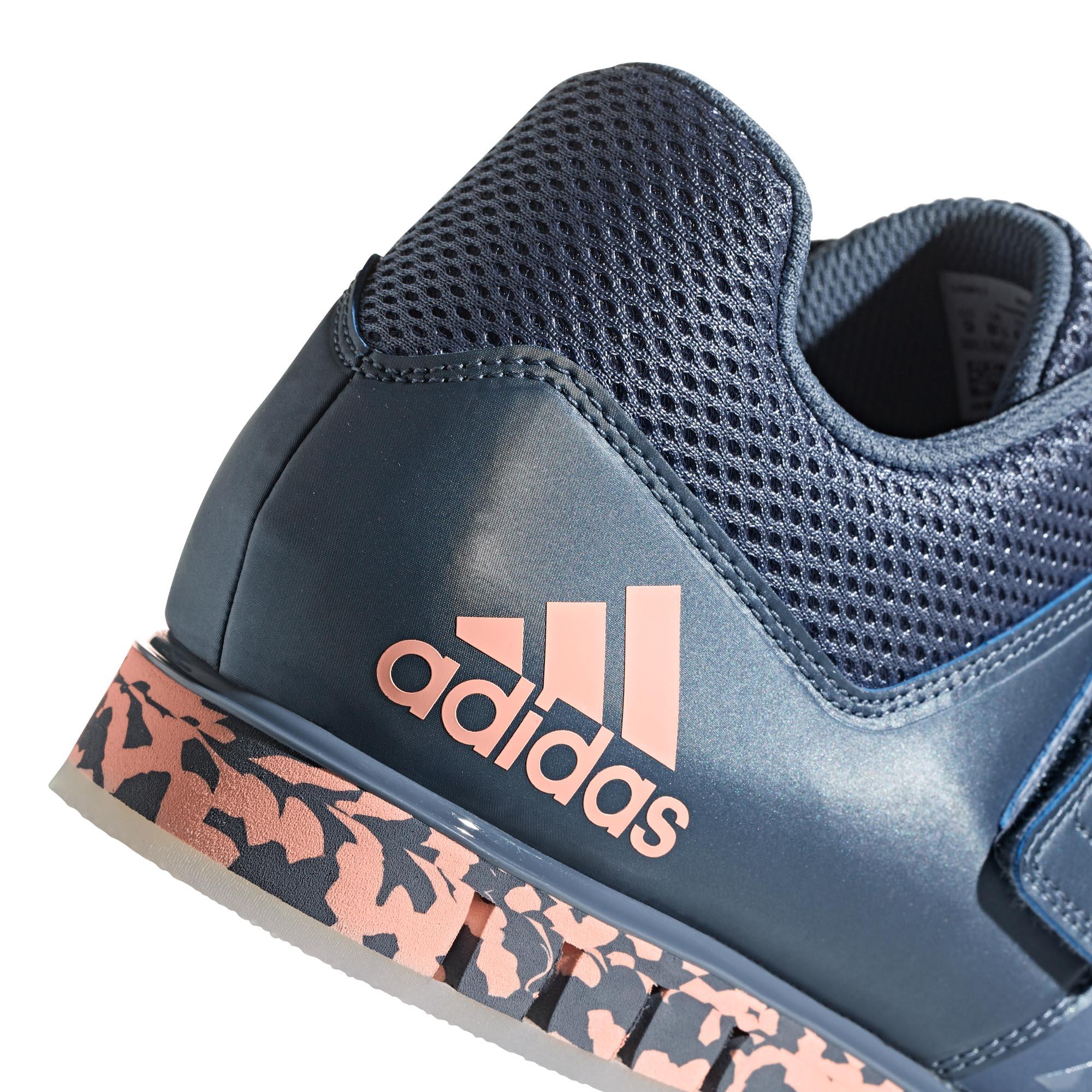 half off a5c29 963e3 Hommes Adidas Powerlift 3.1 pour femme adulte Haltérophilie Dynamophilie Chaussure  Bleu Orange Fitness, athlétisme, yoga
