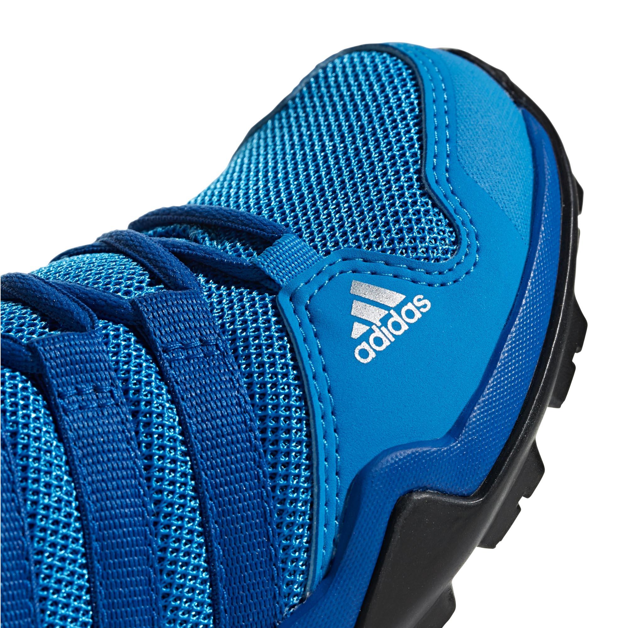 adidas-Terrex-AX2R-Kids-Boys-Trail-Hiking-Trainer-Shoe-Blue-Black thumbnail 8