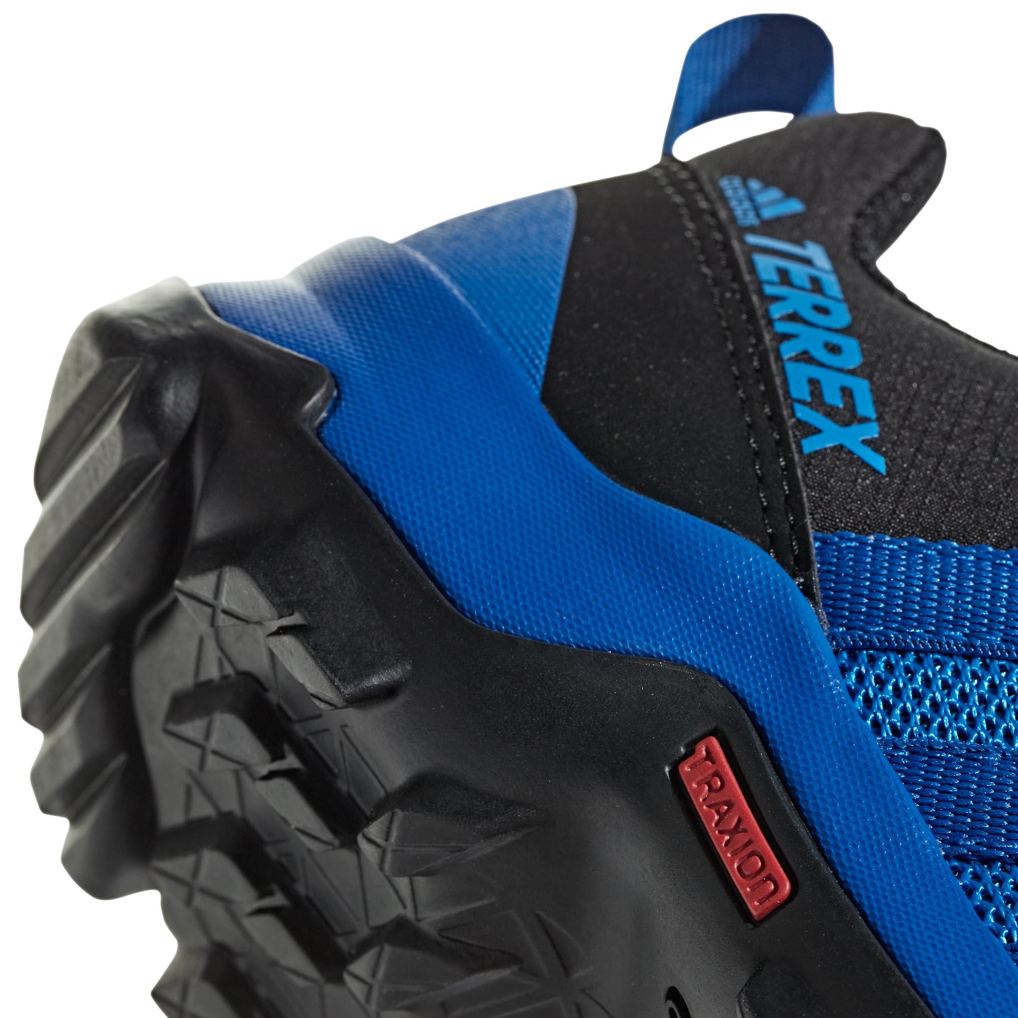 adidas-Terrex-AX2R-Kids-Boys-Trail-Hiking-Trainer-Shoe-Blue-Black thumbnail 9
