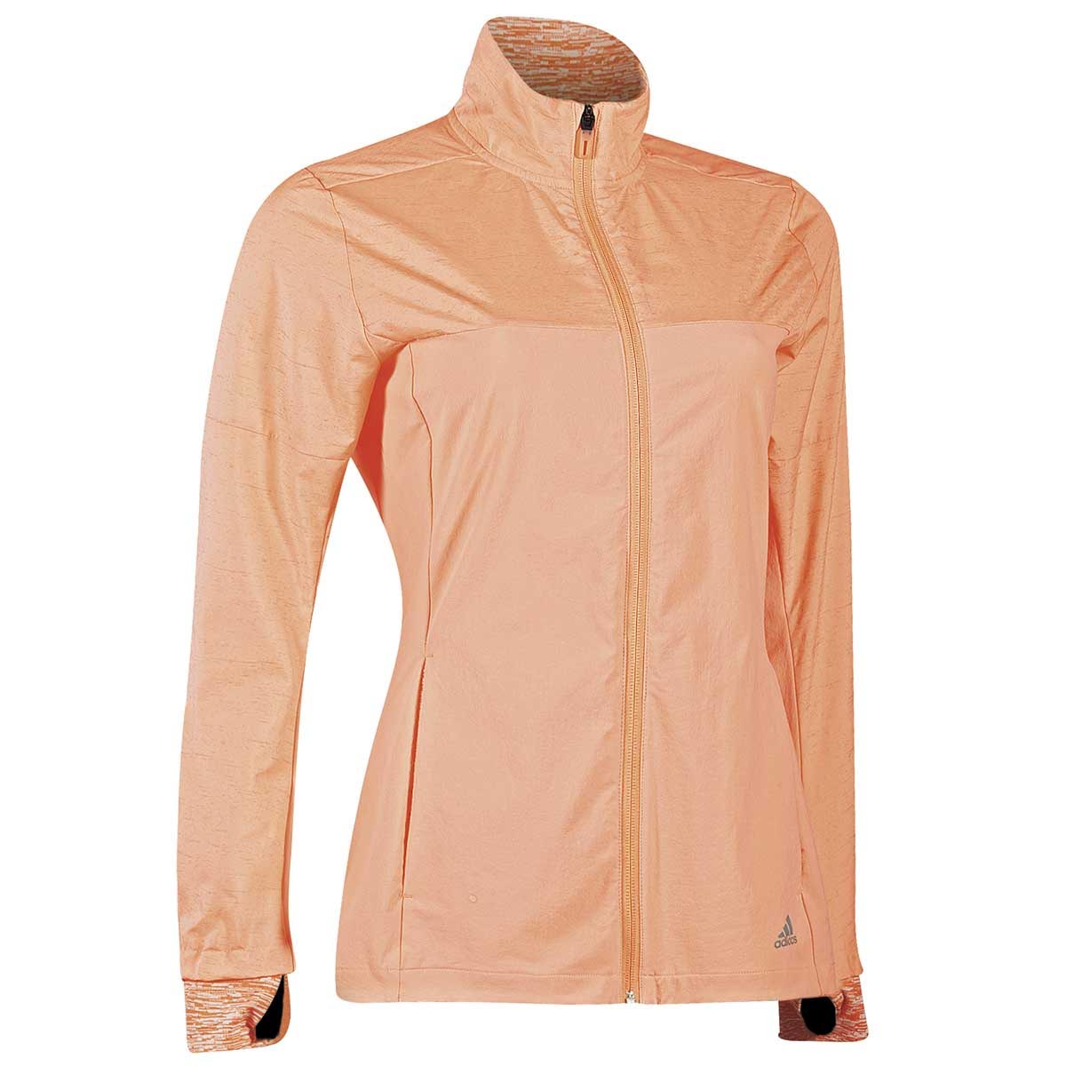 Details about adidas Supernova Storm Womens Ladies Fitness Running Jacket Coat Peach