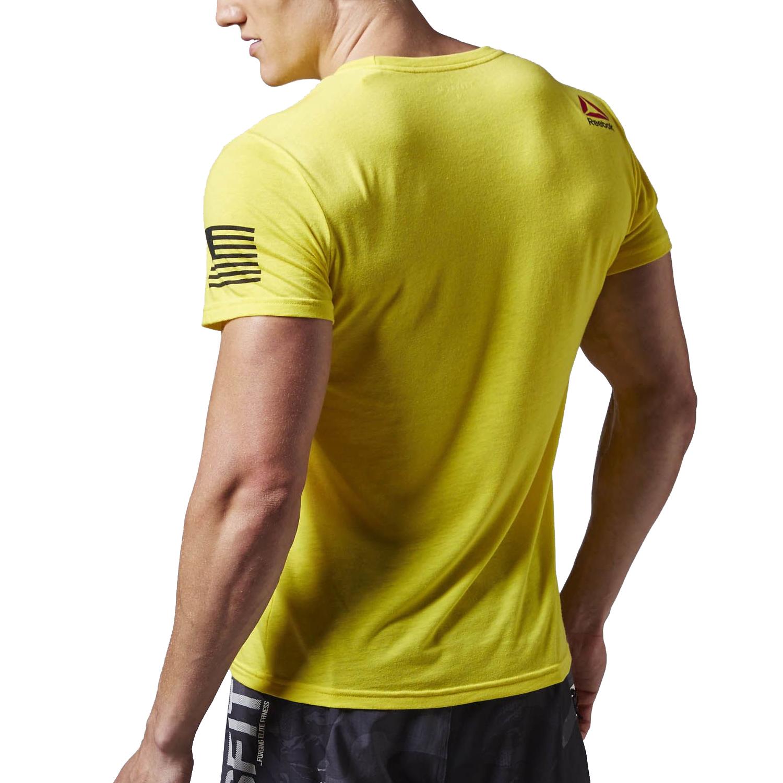 Reebok crossfit mens forging elite short sleeve training t for Reebok crossfit t shirts