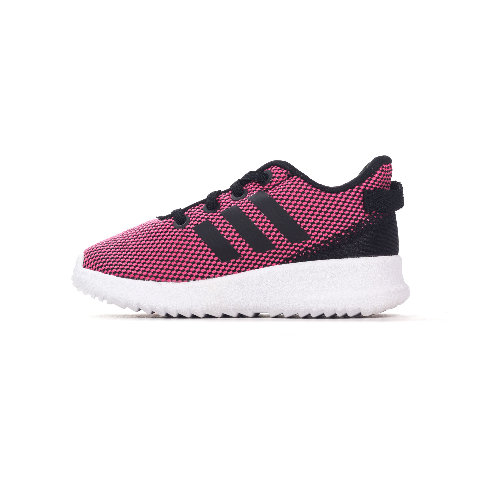 3f89f1d44ba3e Adidas NEO Racer TR enfant Kids filles Sports Trainer chaussure rose blanc
