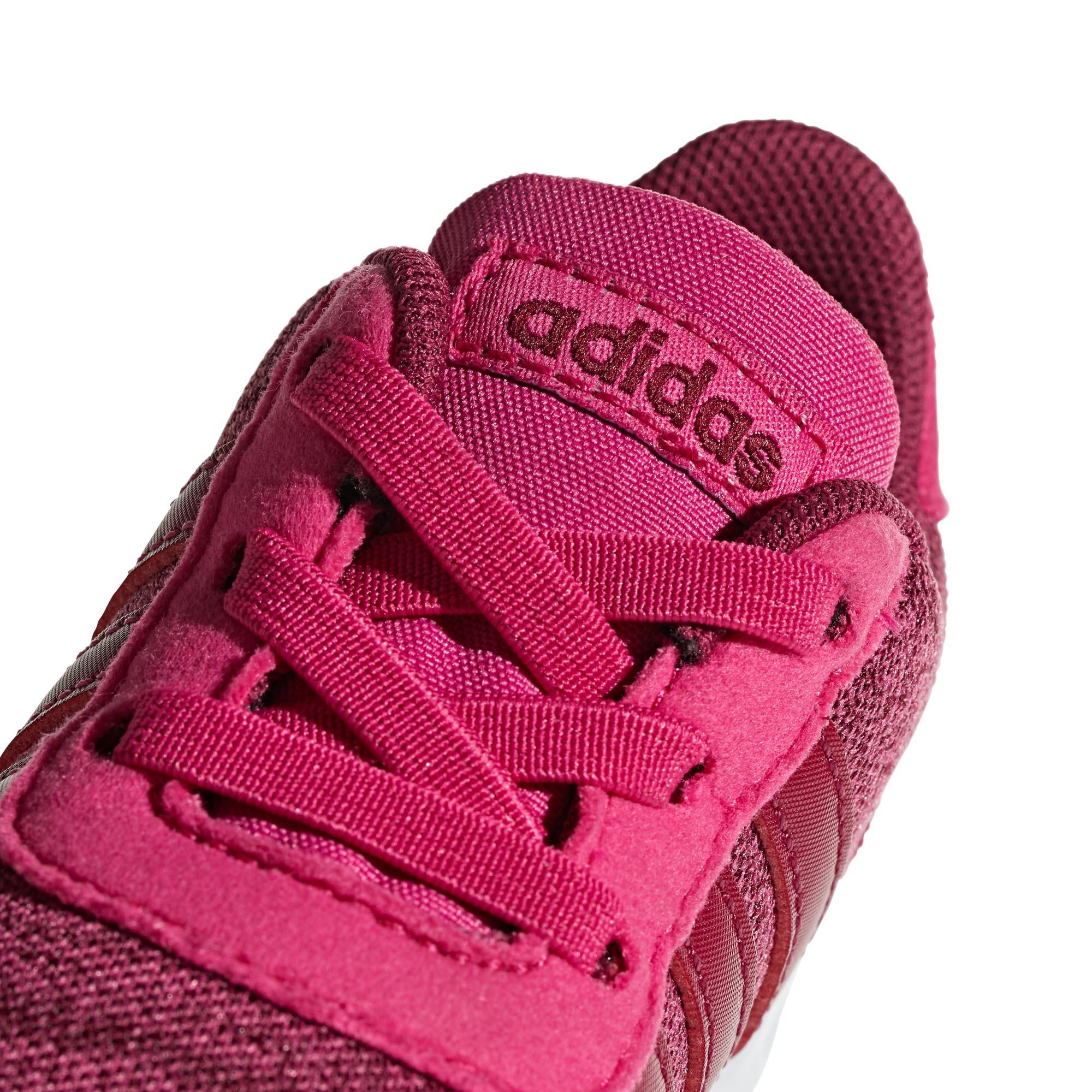 Détails sur Adidas Lite Coureur Enfant Enfants Filles Sports Baskets Magenta Rose UK 6