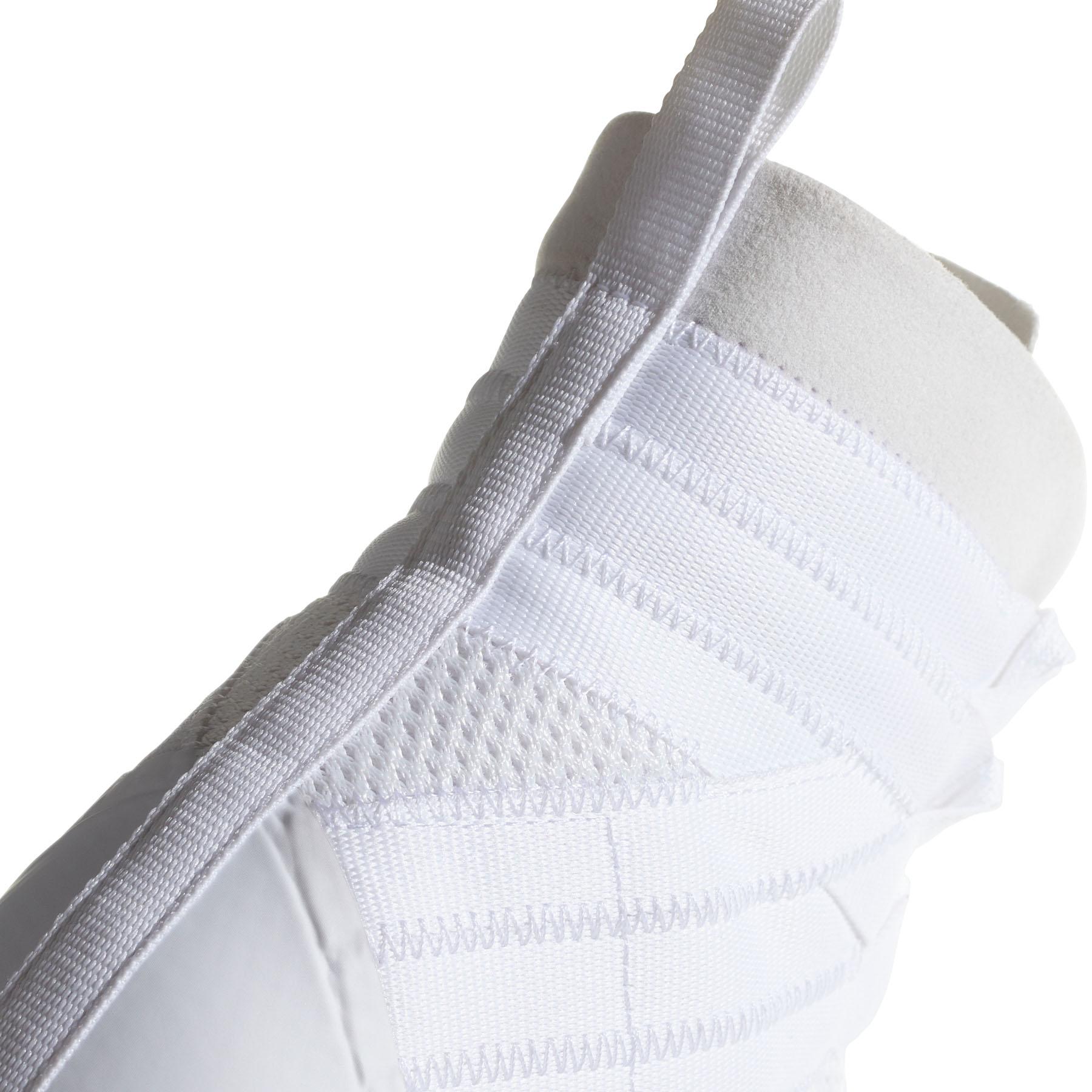miniature 10 - Adidas speedex 18 Homme Adulte Boxe Trainer Shoe Boot Blanc/Rouge