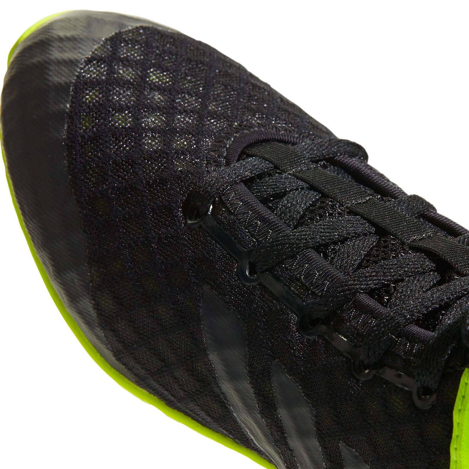 Détails sur Adidas Speedtex 16.1 Hommes Boxe Basket Chaussures Bottes NoirVert UK 7.5
