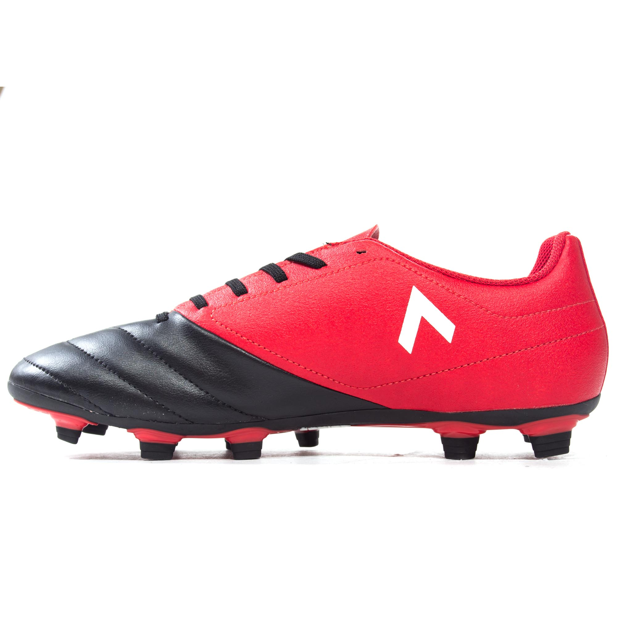 ADIDAS-ACE-17-4-FG-Firm-Ground-pour-homme-Football-Boot-Noir-Rouge miniature 8