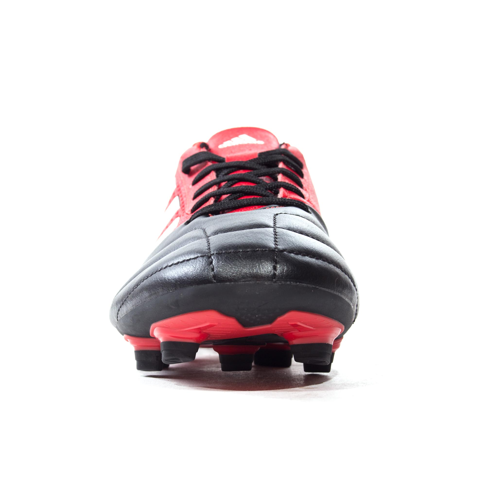 ADIDAS-ACE-17-4-FG-Firm-Ground-pour-homme-Football-Boot-Noir-Rouge miniature 9