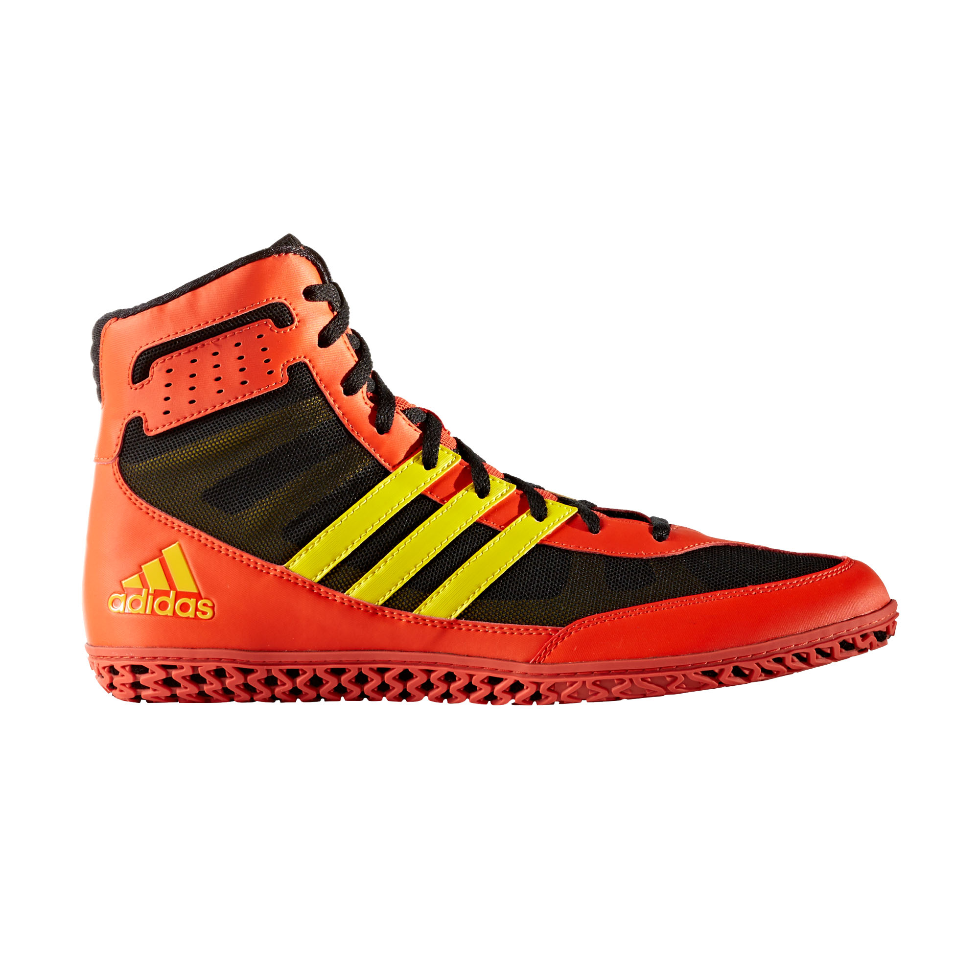 2c01fb1439e adidas Mat Wizard 3 Mens Adult Wrestling Trainer Shoe Boot Red black ...