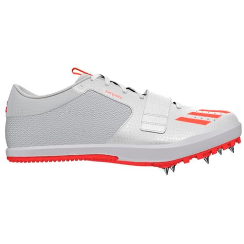 online store 34de3 46b14 Details about adidas Jumpstar Long Triple High Jump Pole Vault Spike Shoe  White   Red