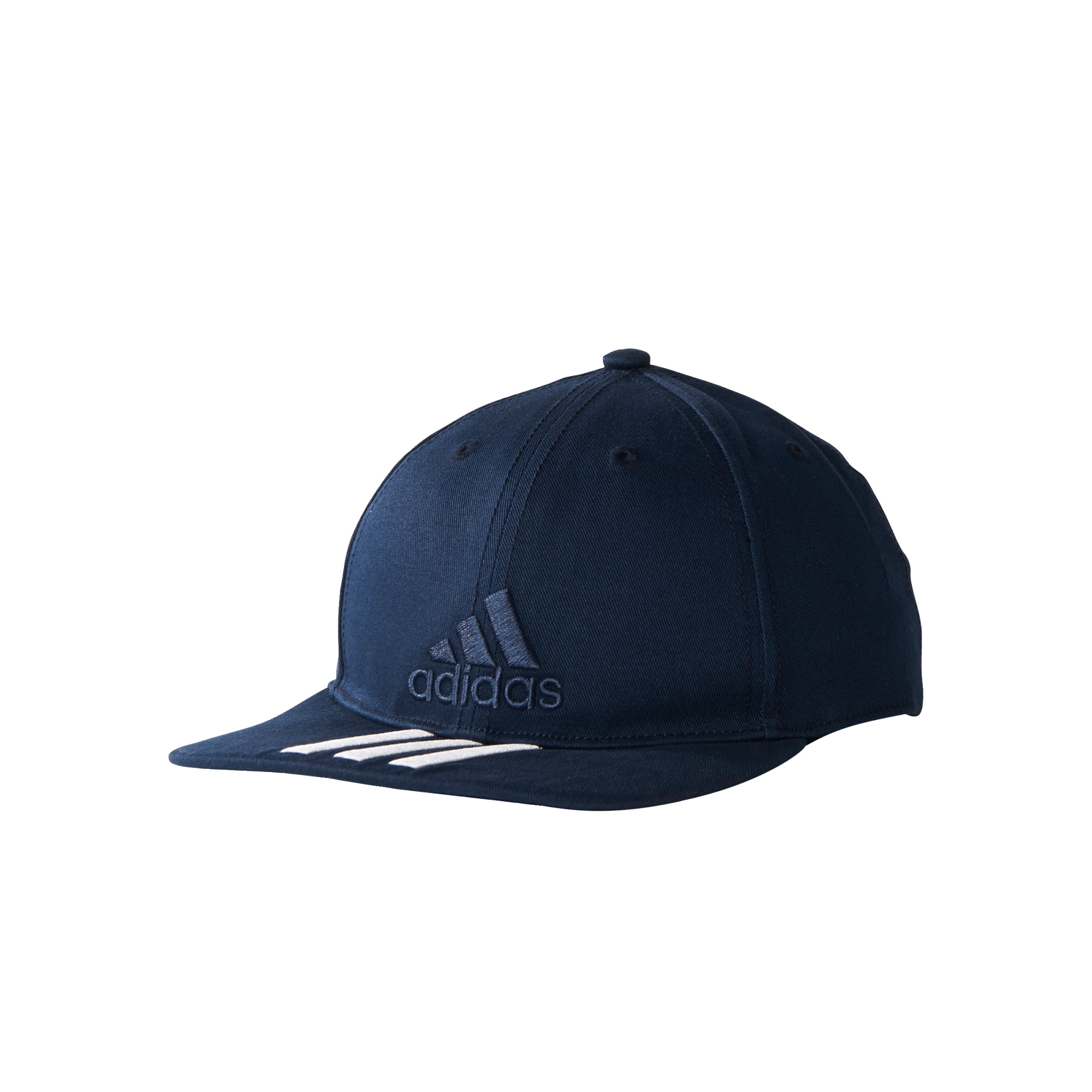 288e1cc2454 Details about adidas Training 3 Stripes Classic Baseball Cap Hat Navy  Blue White - Child