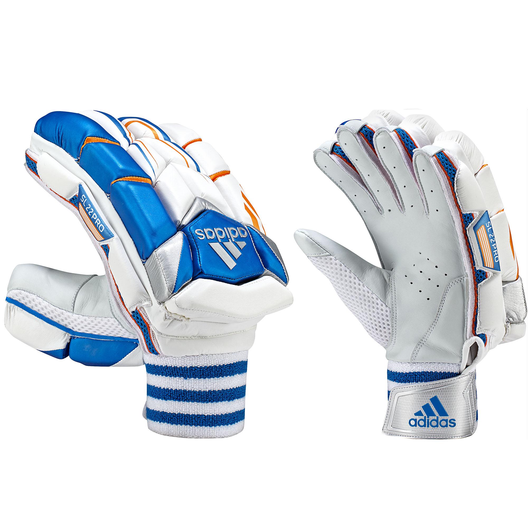 Splay Mens Cricket Gloves Batting Gloves Right hand Men Adult  Blue MRH