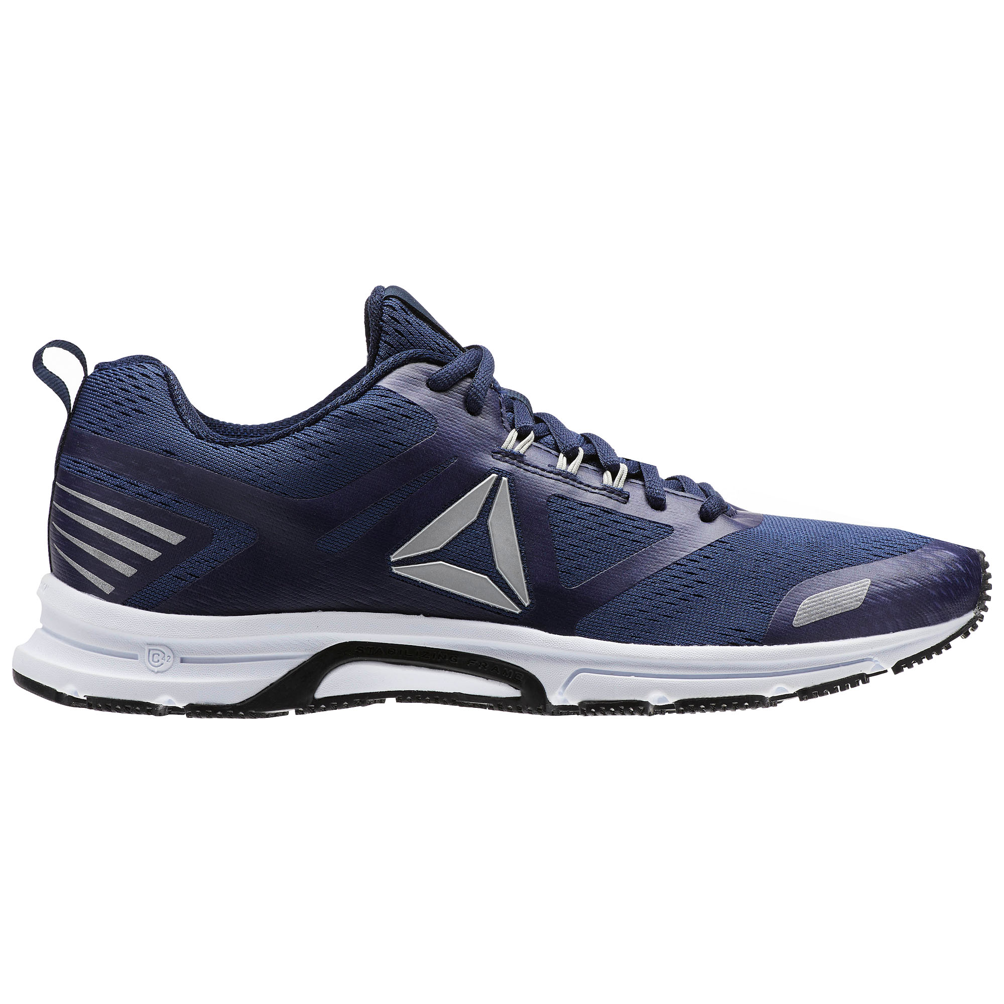 2e8ea7b3 Details about Reebok Ahary Runner Mens Running Fitness Training Trainer  Shoe Navy Blue