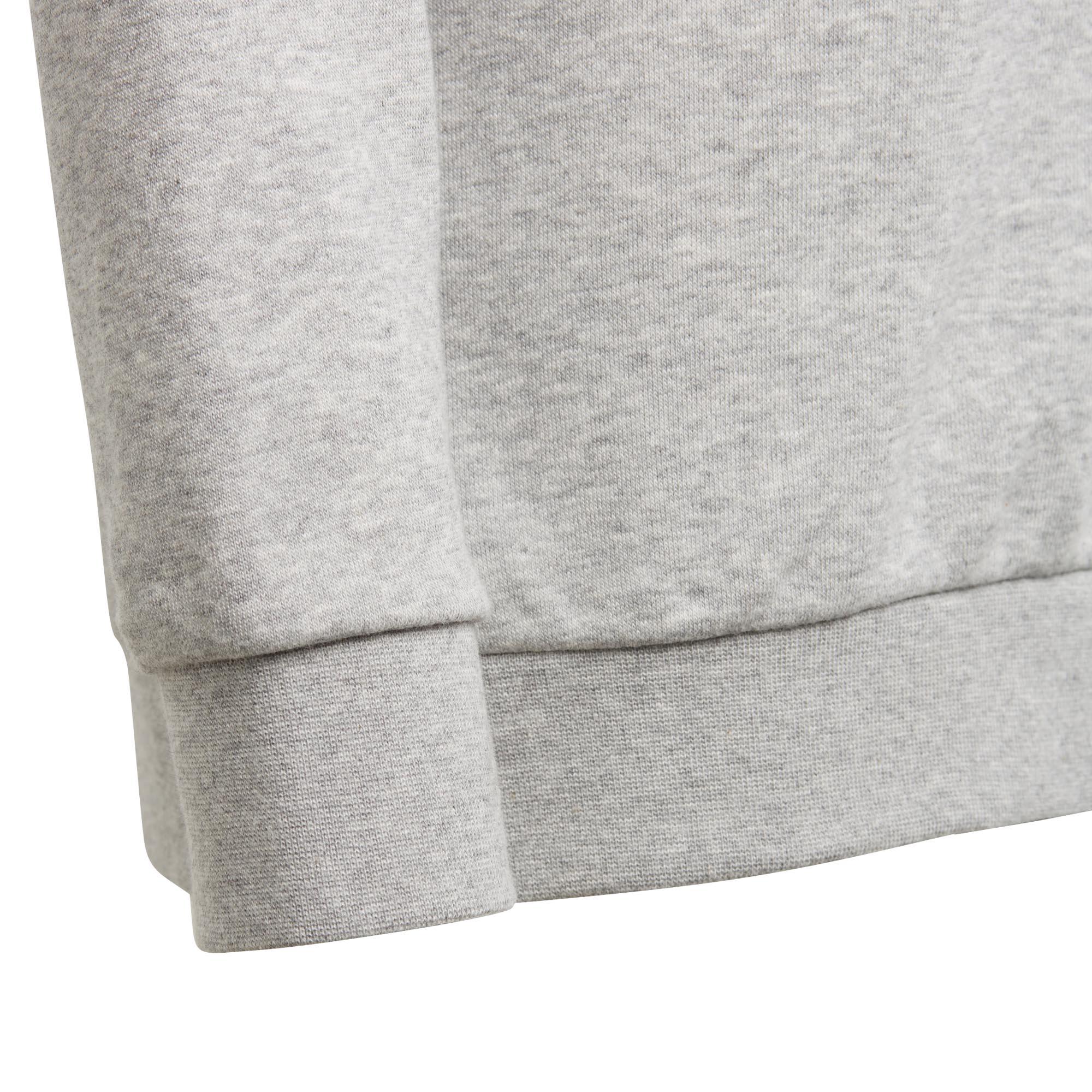 71aa751db adidas Big Logo Boys Kids Junior Crew Sweatshirt Jumper Grey/Black ...