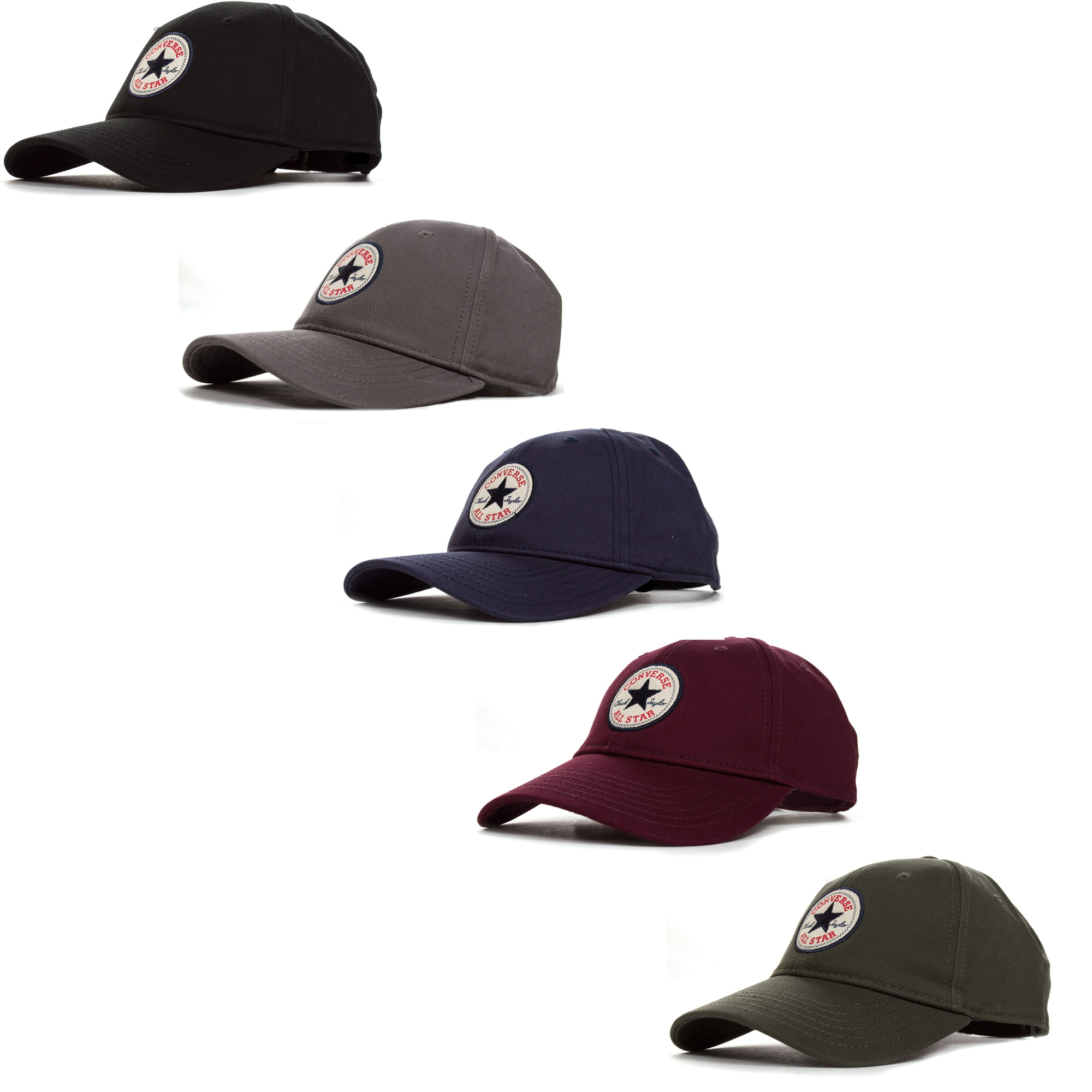 5dd91c1bd3c7ed Details about Converse All Star Core Classic Fashion Adult Adjustable  Baseball Cap Hat